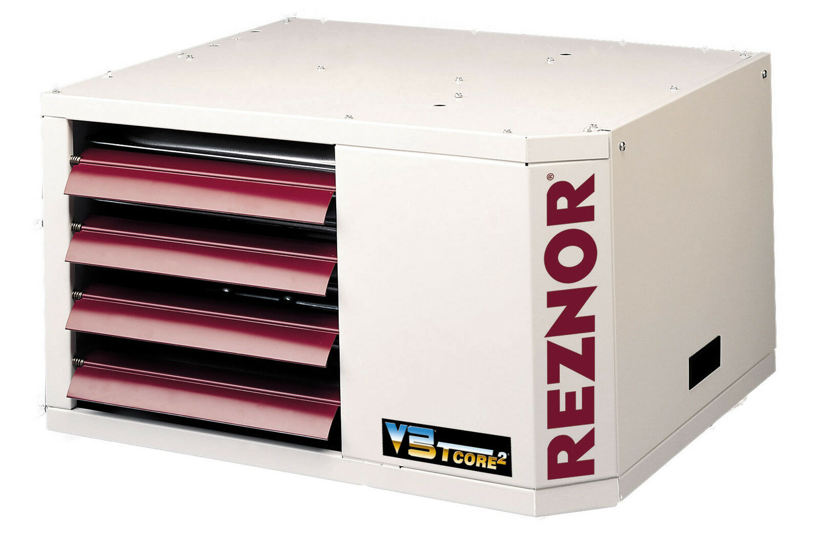 Reznor Udap 400 400000 Btu V3 Power Vented Gas Fired Unit Heater Waste Oil Furnace Thermostat Wiring 1 Of 1free Shipping