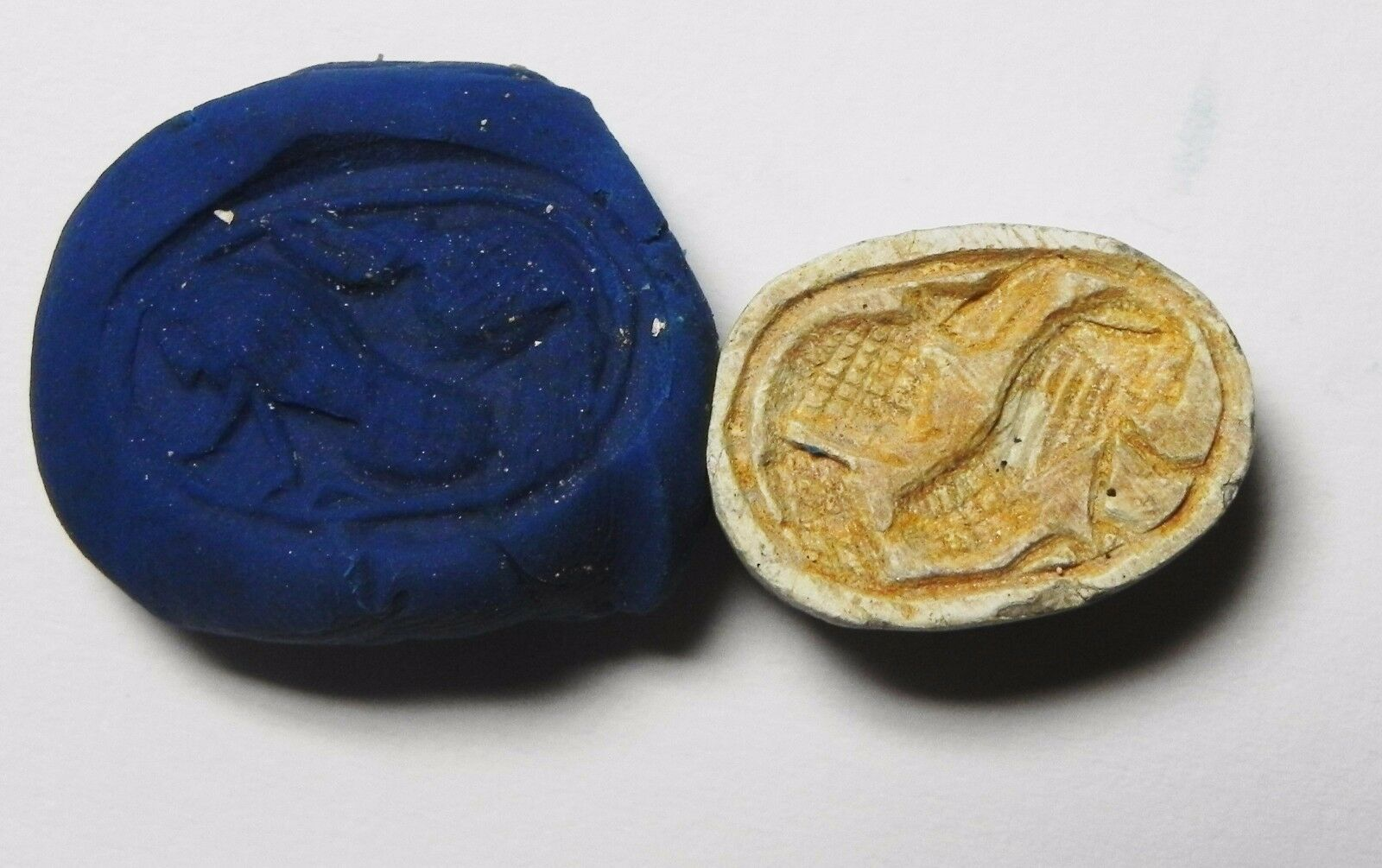 Zurqieh -Af641- Ancient Egypt ,2Nd Intermediate Stone Scarab. 1782 - 1570 B.c