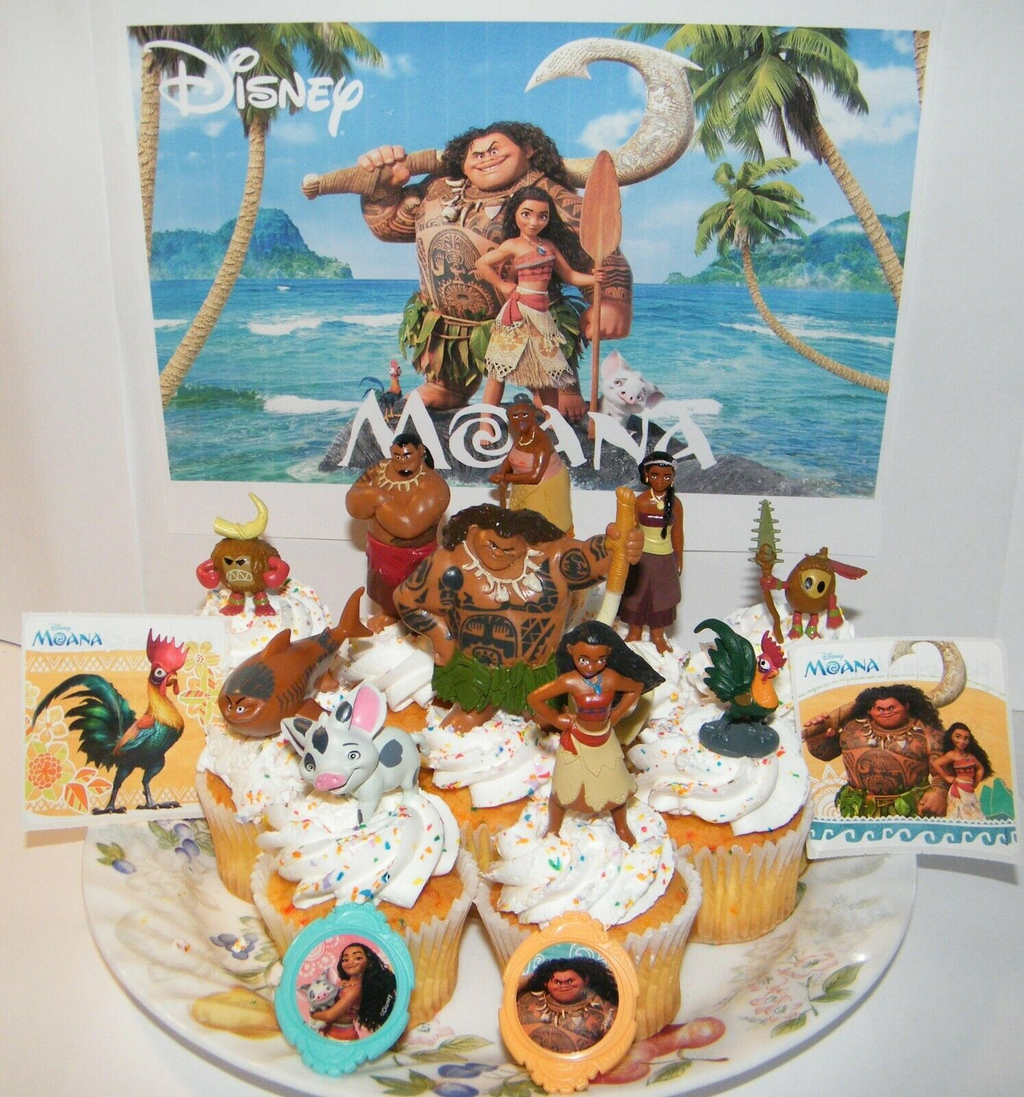 disney wedding cake toppers australia disney moana cake toppers set of 14 with figures 13591