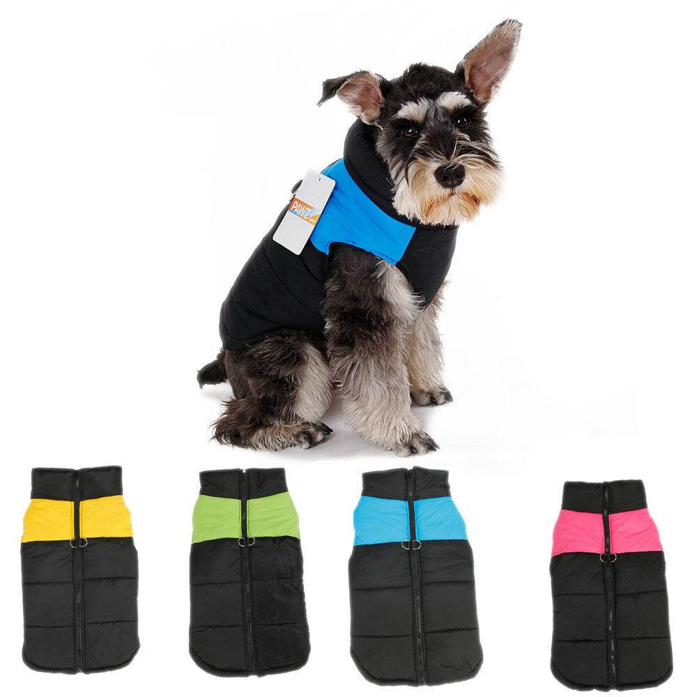Pet Dog Cat Clothes Small Puppy Winter Warm Vest Waterproof Jacket Coat Apparel
