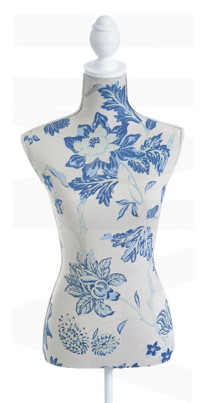 CLEARANCE SALE BLUE Green Flowers Female Mannequin Tailors Retail ...