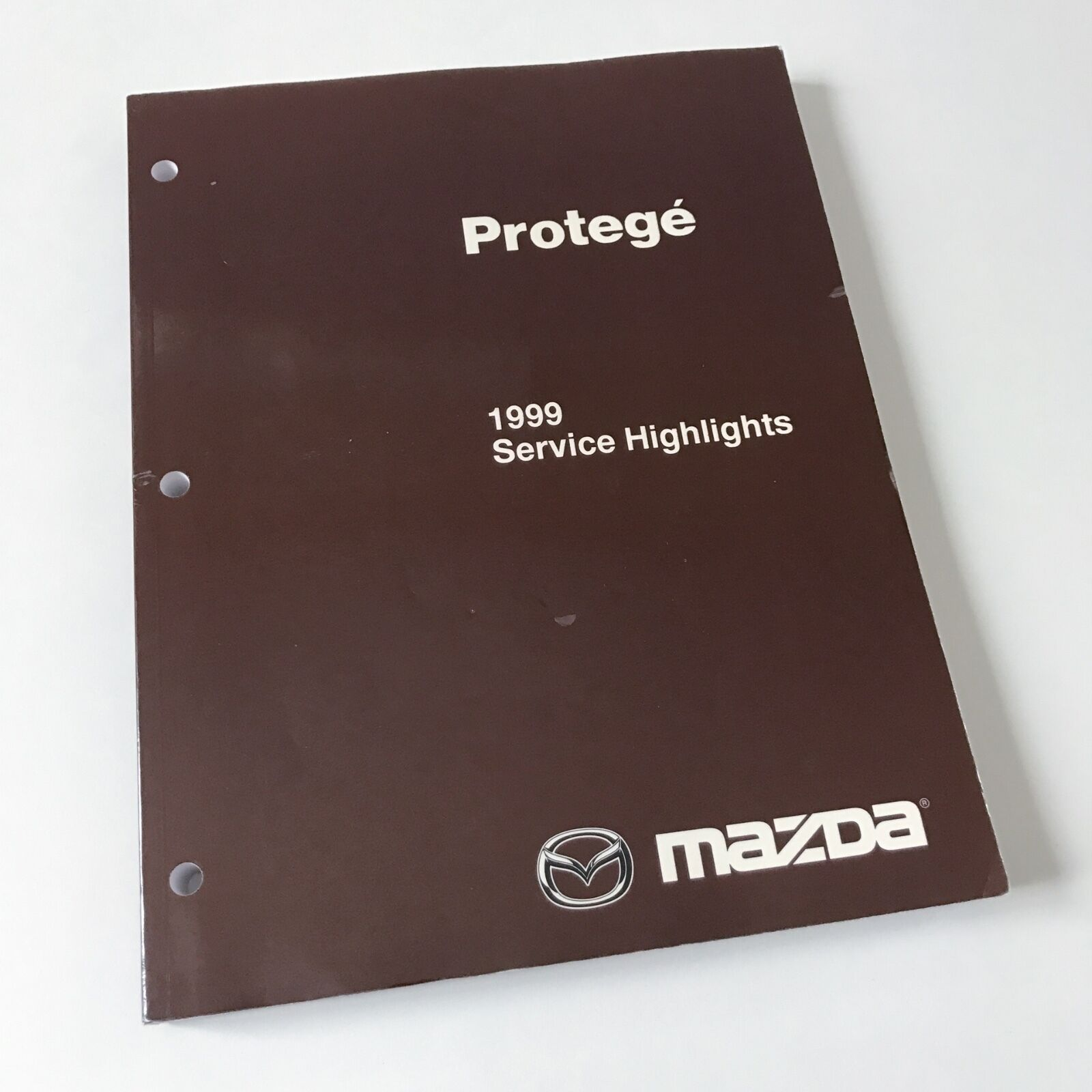 NEW 1999 Mazda Protege Factory OEM Workshop Service Highlights Repair Manual  1 of 1Only 4 available ...