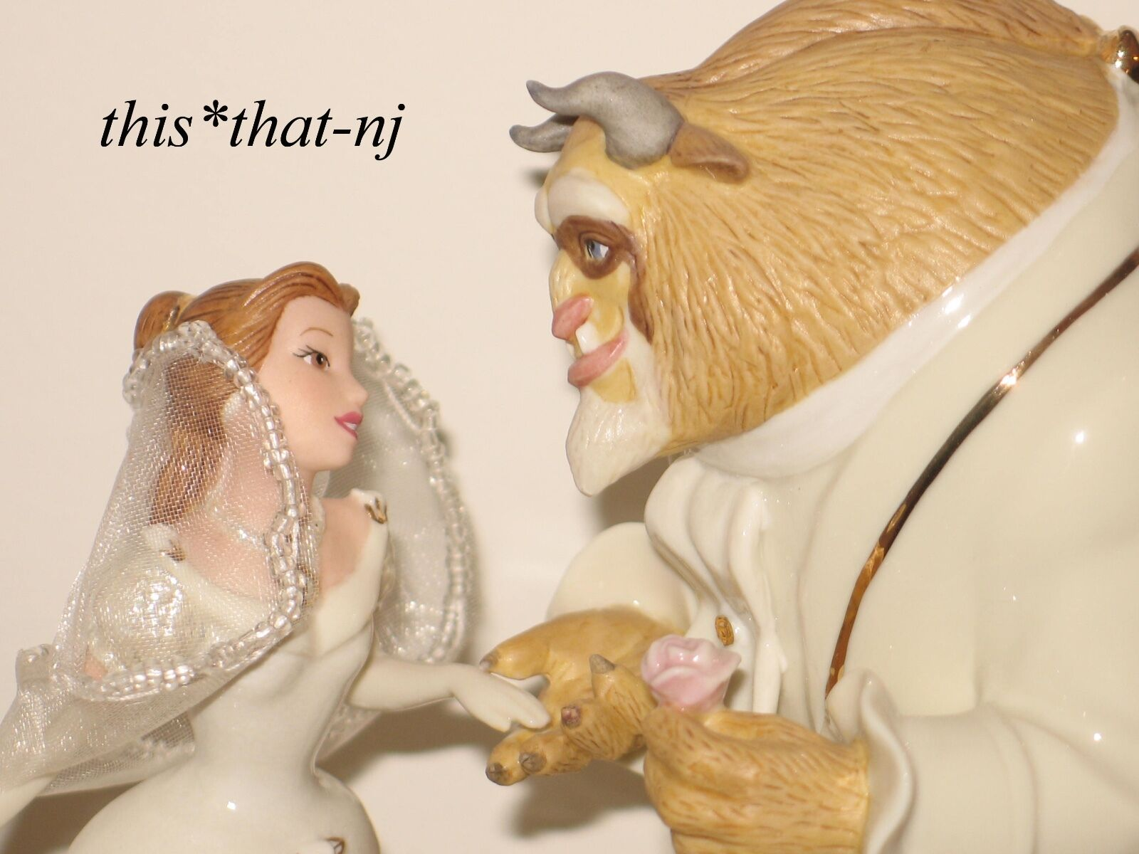 Lenox Beauty And The Beast Cake Topper
