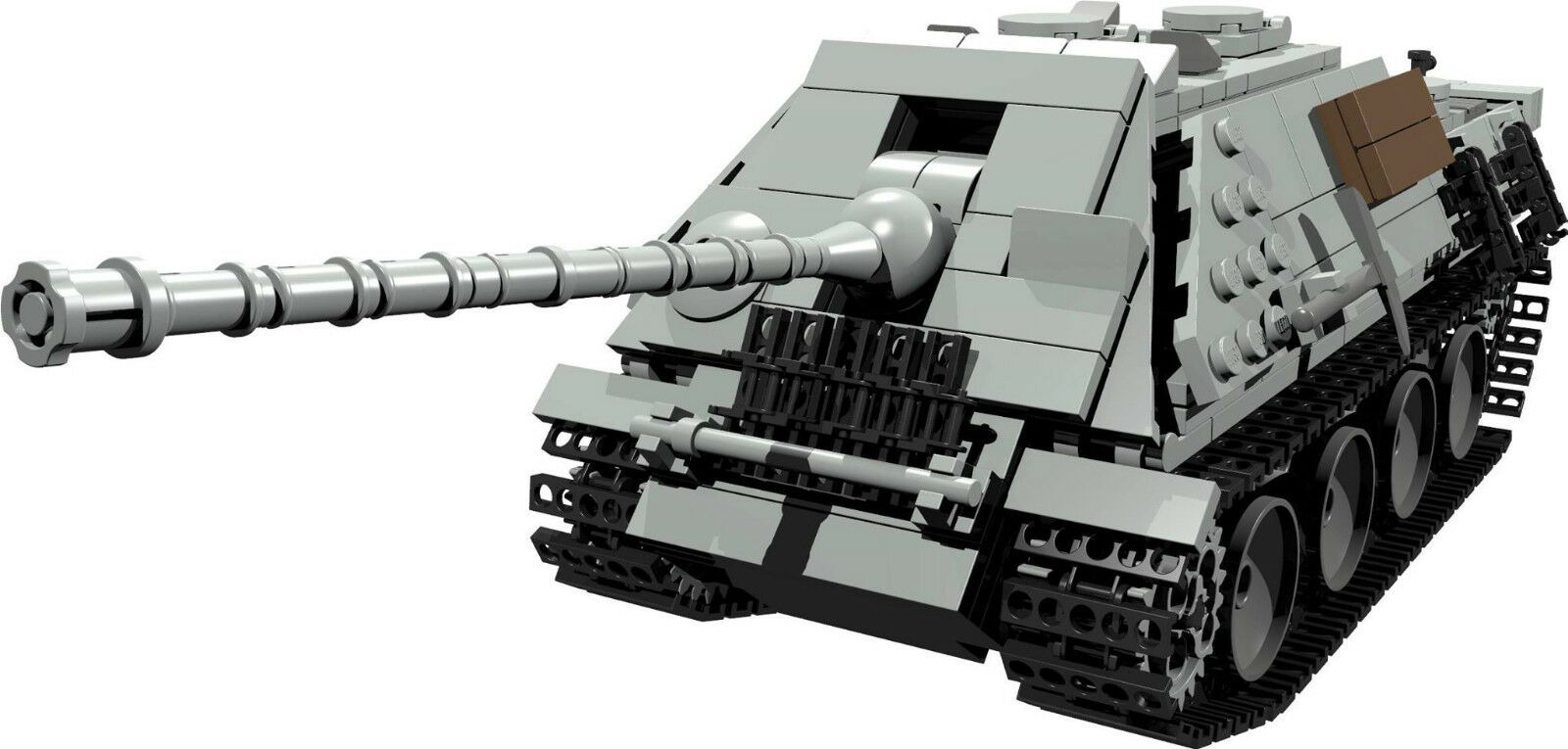 Custom Building Instruction Ww2 Jagdpanther Tank To Build Out Of