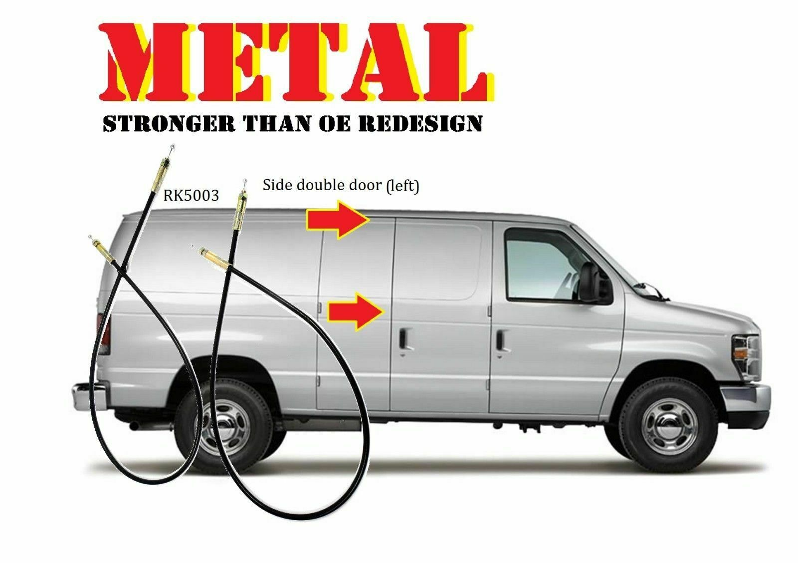 For Metal Econoline Van Handle Side Cargo Latch Release Actuator 2 E550 Ford E 150 Wiring Diagram Manuals 1 Of 5only 4 Available