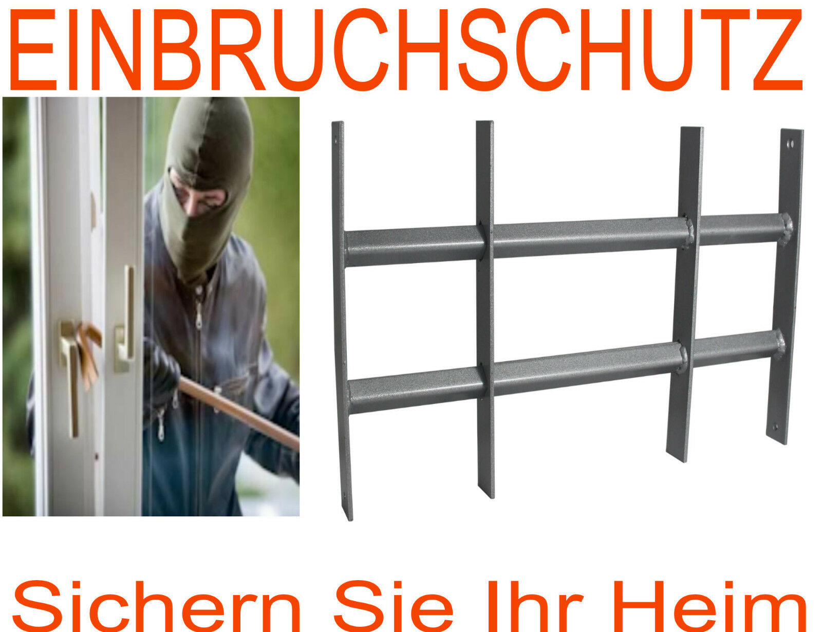 fenstergitter protect gitter einbruchschutz. Black Bedroom Furniture Sets. Home Design Ideas