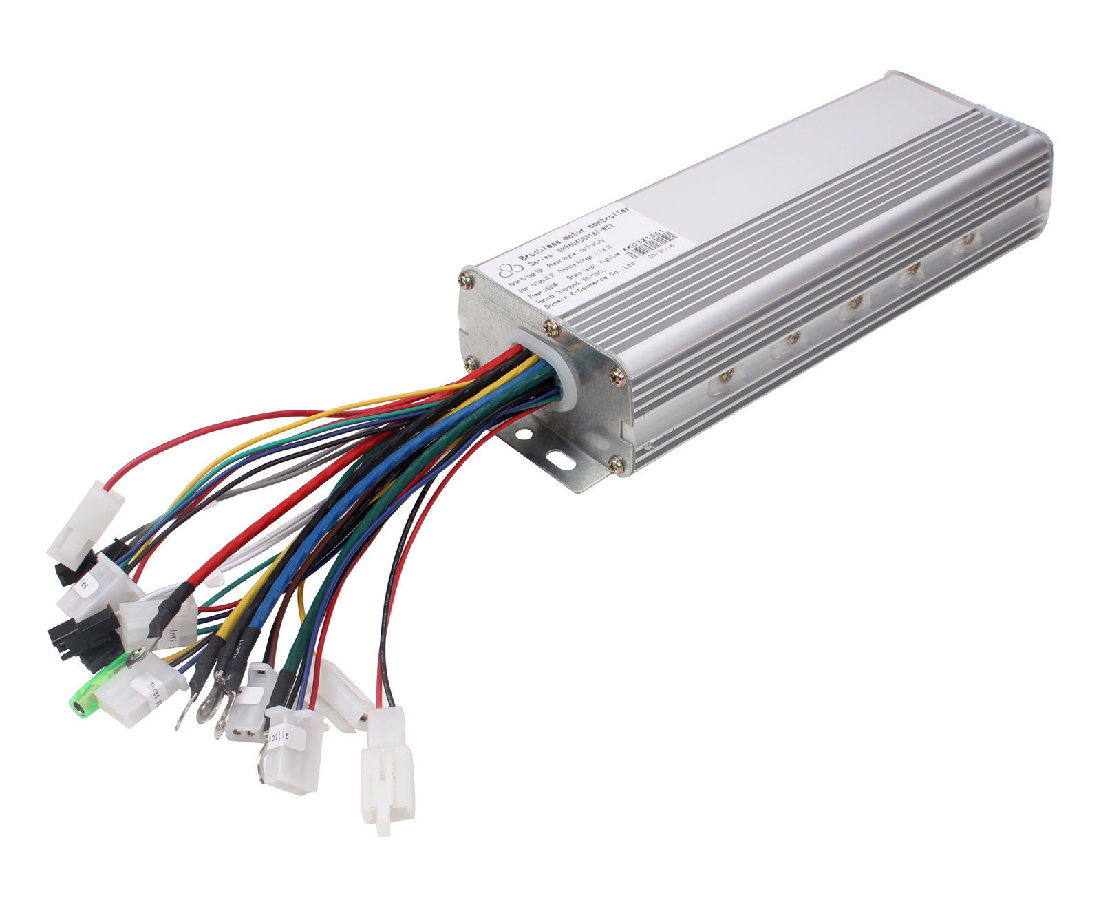 96v 1500w Electric Bicycle Brushless Motor Controller 18t