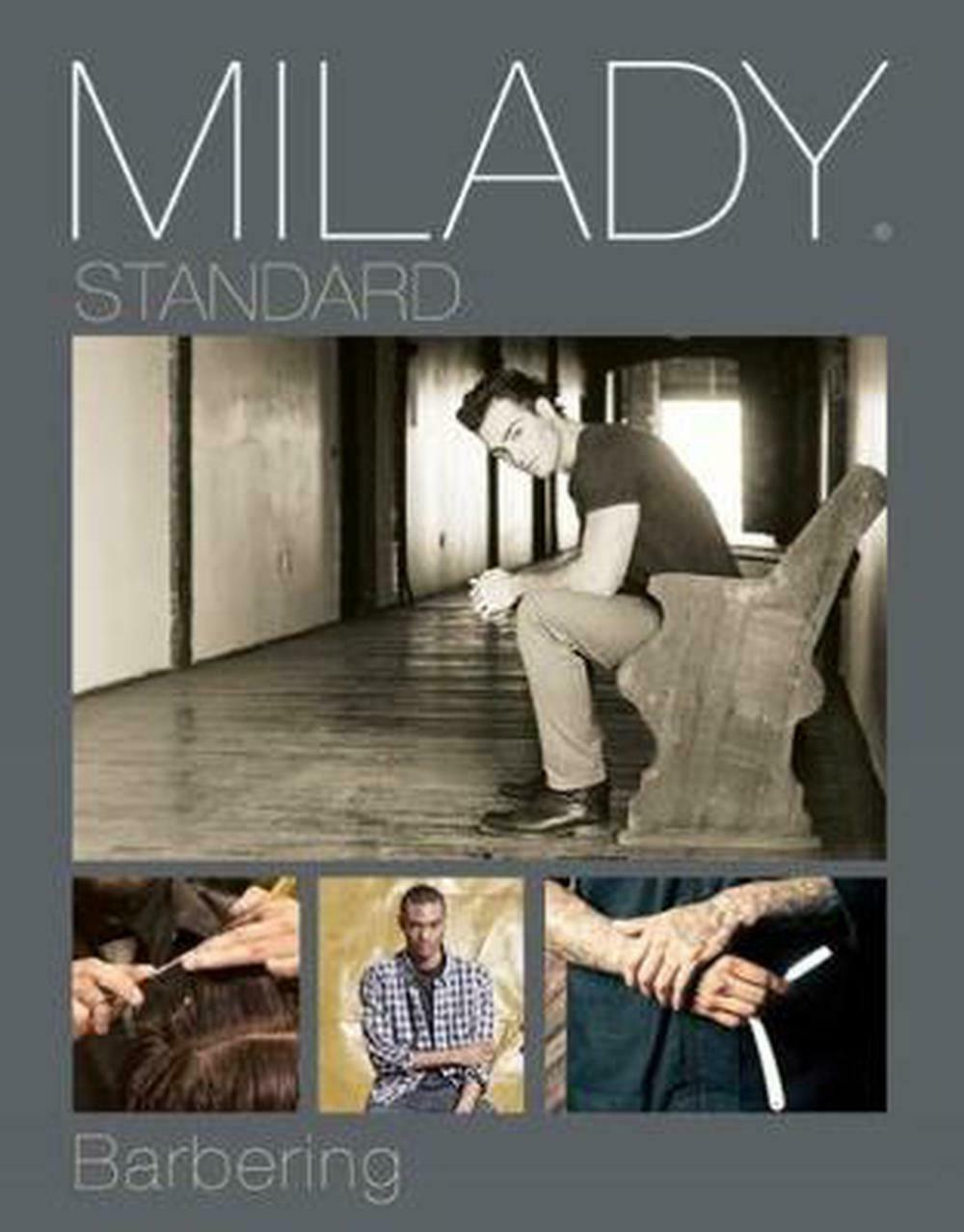 Milady standard barbering by milady english hardcover book free 1 of 1only 3 available fandeluxe Image collections