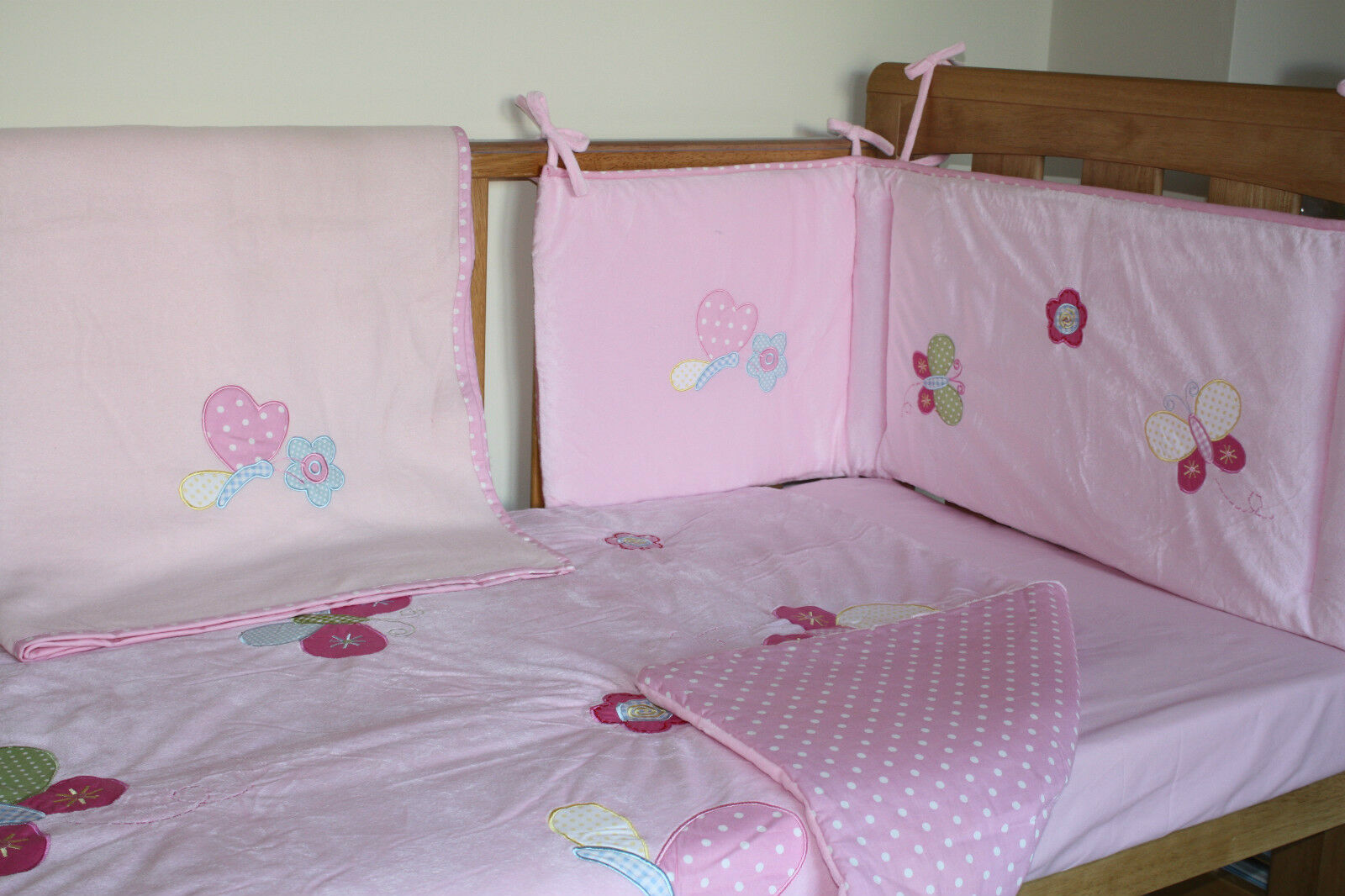 Though many bedding sets come with bumpers, the American Association of Pediatrics recommend you keep bumpers, pillows and other soft bedding out of baby's crib. For more information, read our blog post about bumpers. Ikea's sprightly sheets set the stage for a cheerful (and cheap) nursery. With.