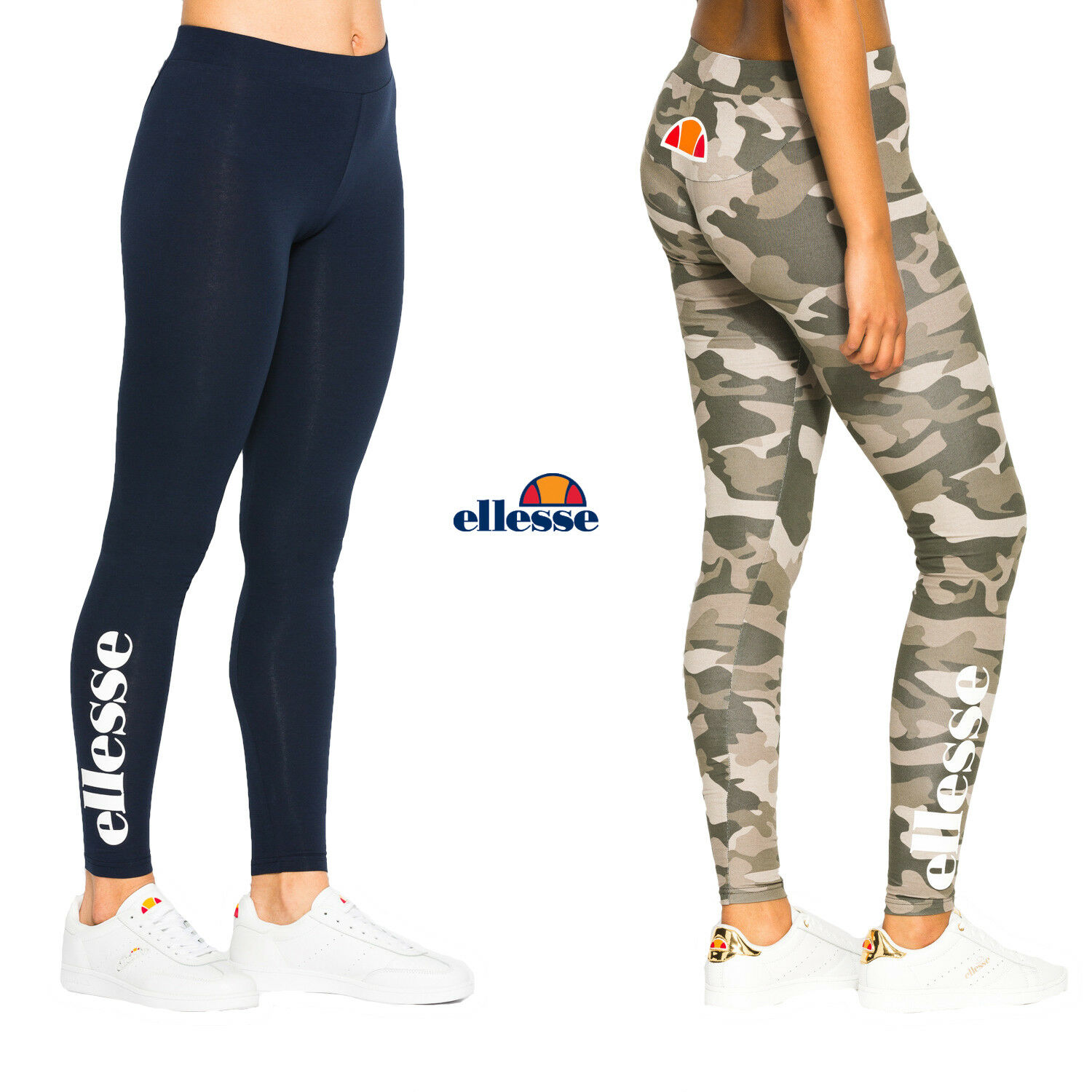 ellesse damen leggings solos gym fitness sporthose pants. Black Bedroom Furniture Sets. Home Design Ideas