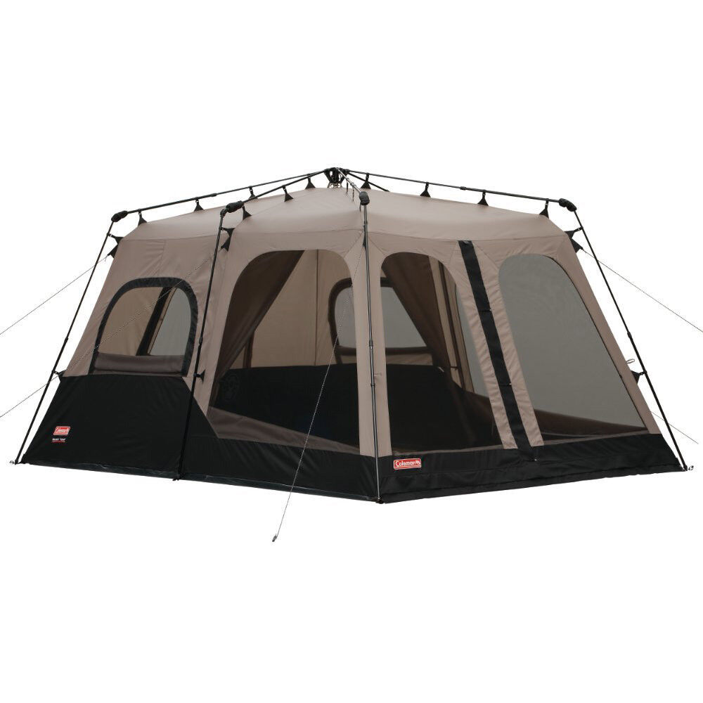 Coleman 8 Person 14' x 10' Weathertec Instant Set Up Outdoor Camping Tent (Used)