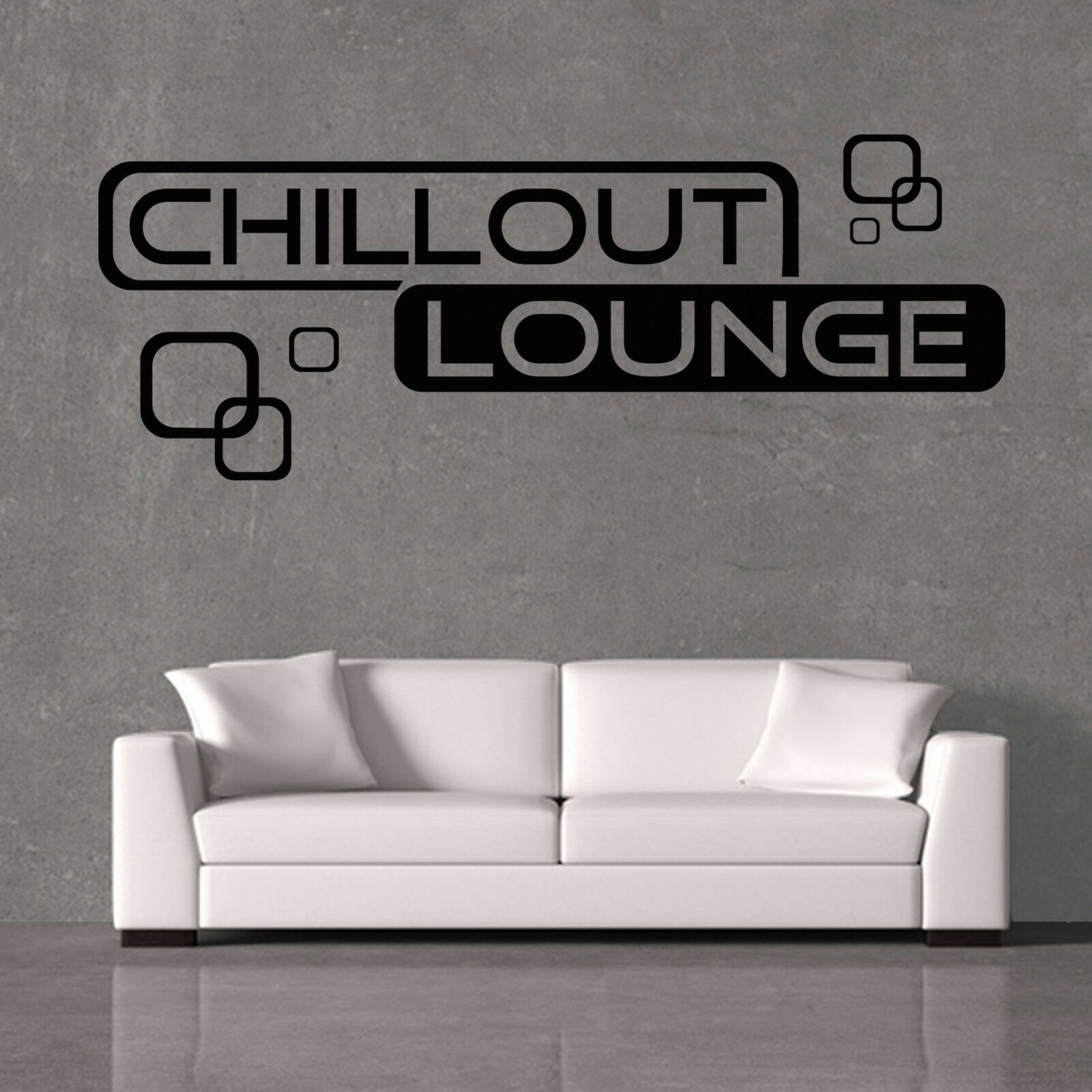 wandtattoo chillout lounge wohnzimmer relaxzone retro cubes quadrate s xxl eur 9 99 picclick de. Black Bedroom Furniture Sets. Home Design Ideas