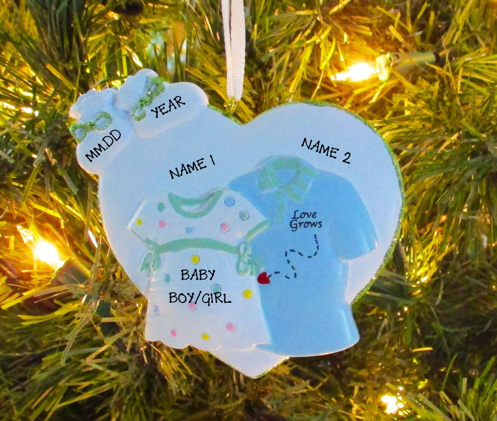 WE RE EXPECTING NEW Baby Boy Girl Couple First Personalized
