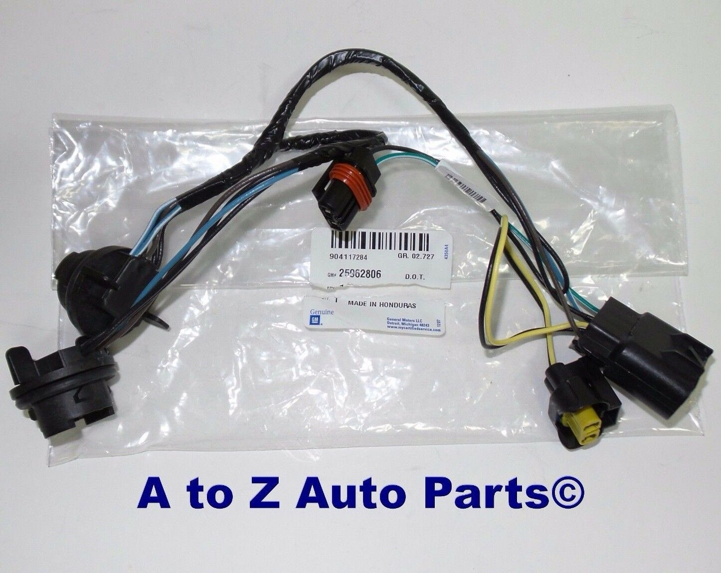 NEW 2007-2013 Chevrolet Silverado Headlight Wiring Harness, OEM GM 1 of  3FREE Shipping See More