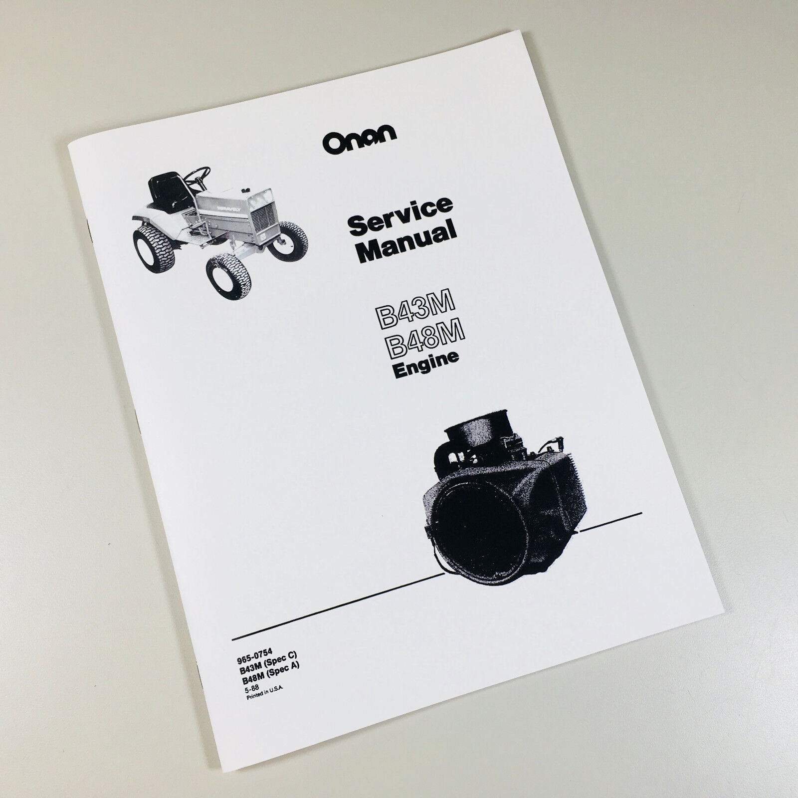 Case 446 Garden Tractor Manual One Word Quickstart Guide Book Ingersoll Wiring Diagram Compact Onan B43m 16hp Engine Service Repair Rh Picclick Com