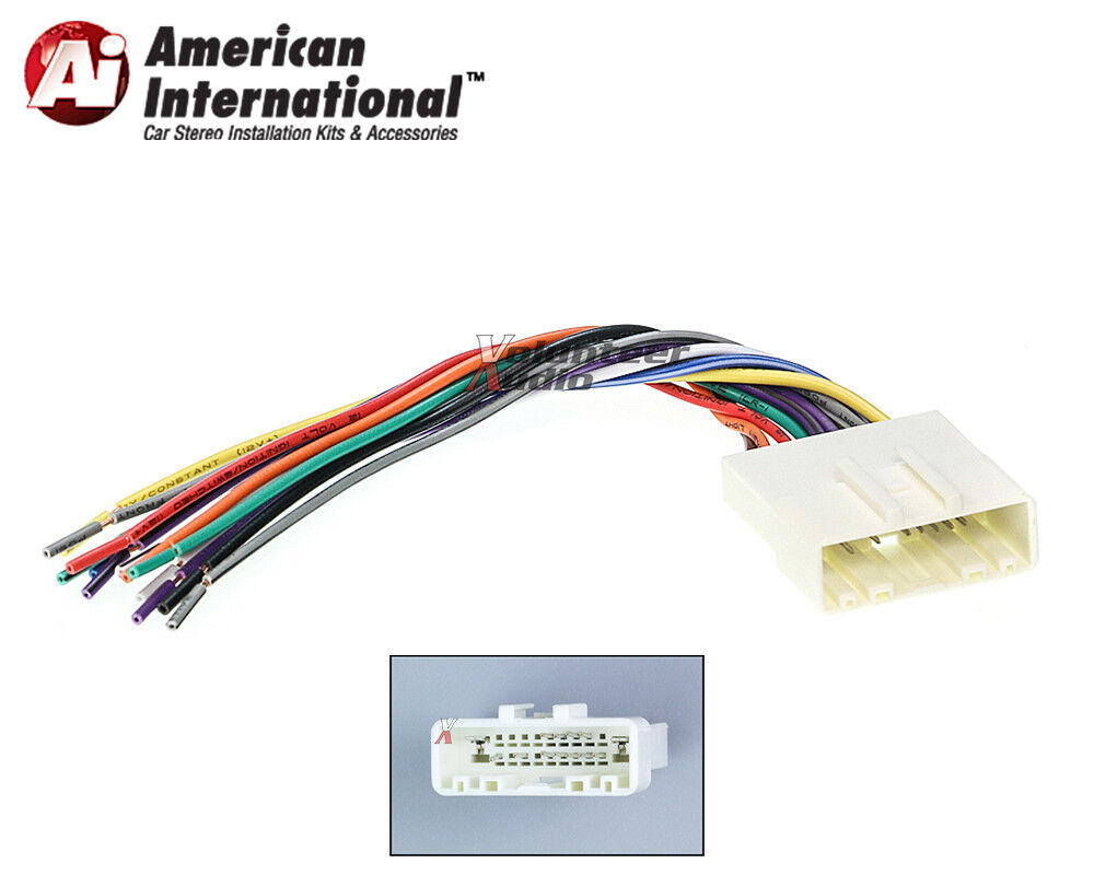 Car Stereo Cd Player Wiring Harness Adapter Cable Aftermarket Radio Install Plug 1 Of 4free Shipping