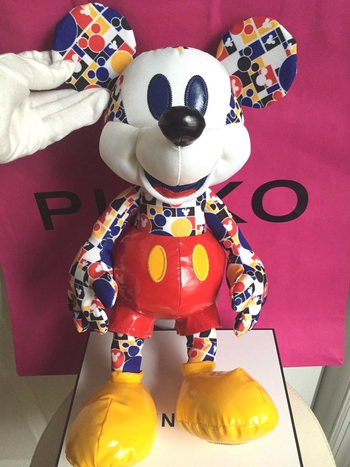 Nwt disney store mickey mouse memories collection march plush limited edition picclick - Disney store mickey mouse ...