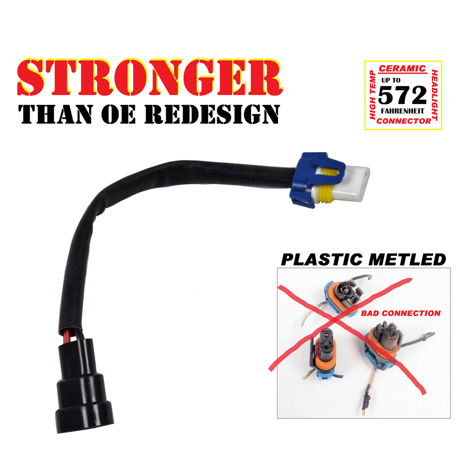 For H10 9005 9006 New Universal Adapter Wiring Harness 2005 Buick Lacrosse 1 Of 2only Available