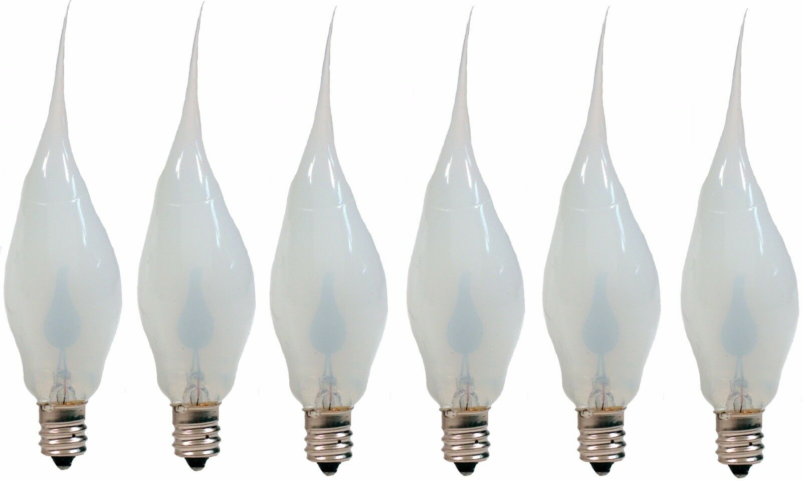silicone dipped flicker flame light bulbs, 3 watt, great halloween