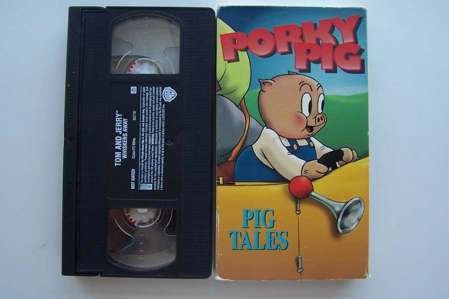 1 of 1 see more - Porky Pig Blue Christmas Video