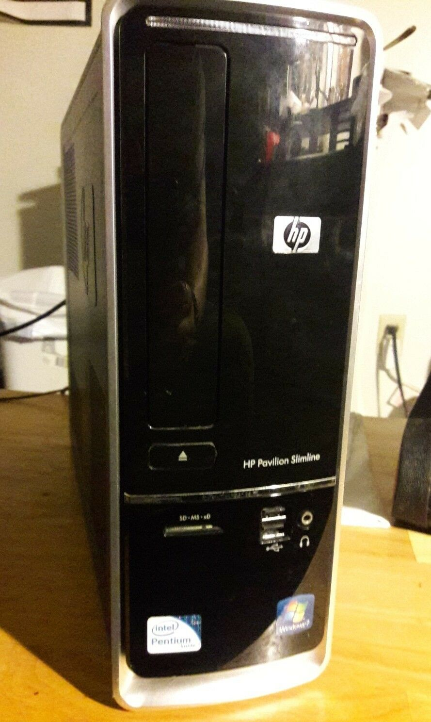 HP Pavilion Slimline s5000 w/ Moniter included 1 of 8Only 1 available ...