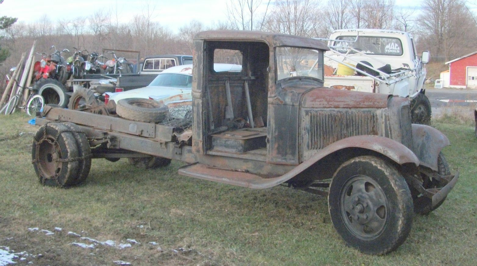 1932 Ford 1 Ton Truck Pickup Solid Cab Rat Hot Rod 500000 1942 Dodge Grain Of 7only Available