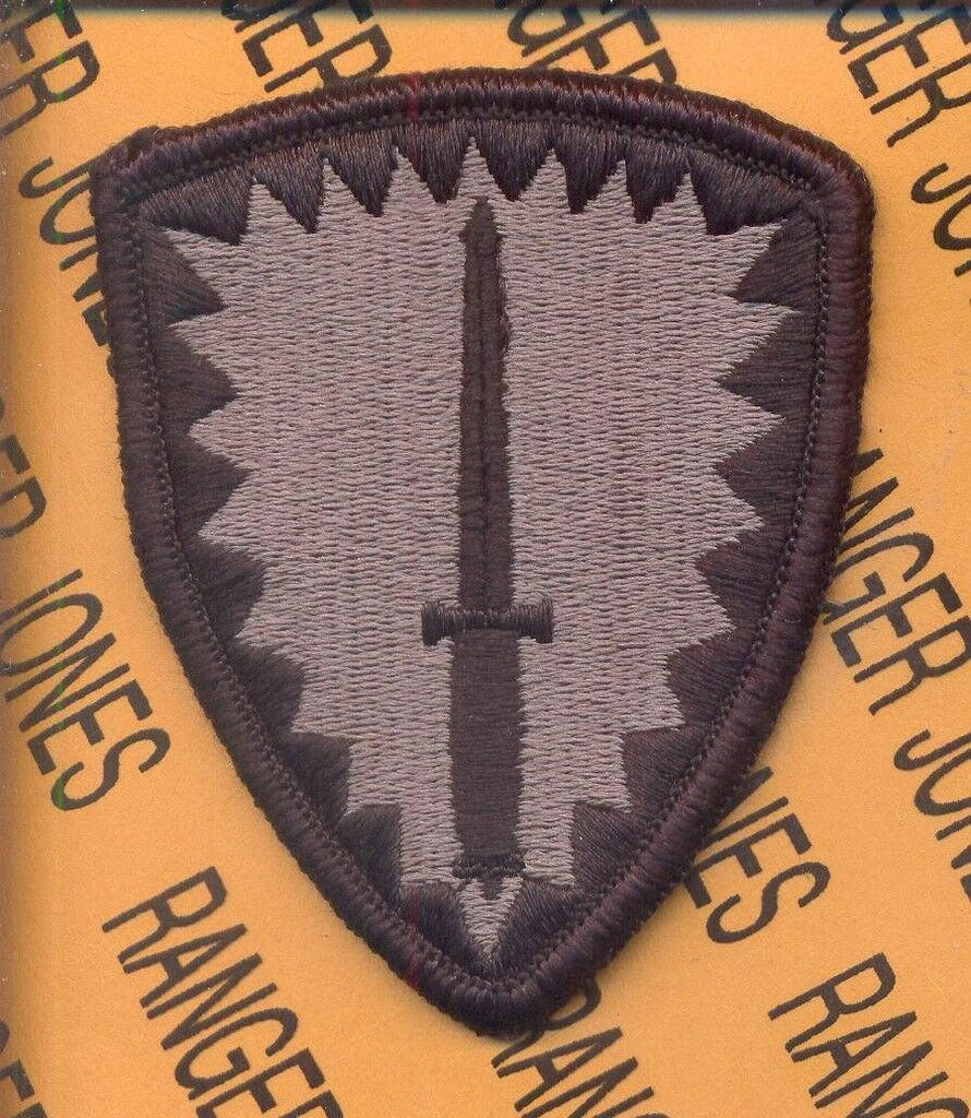 SOCEUR Spec Ops Cmd Europe ACU NO VELCRO patch
