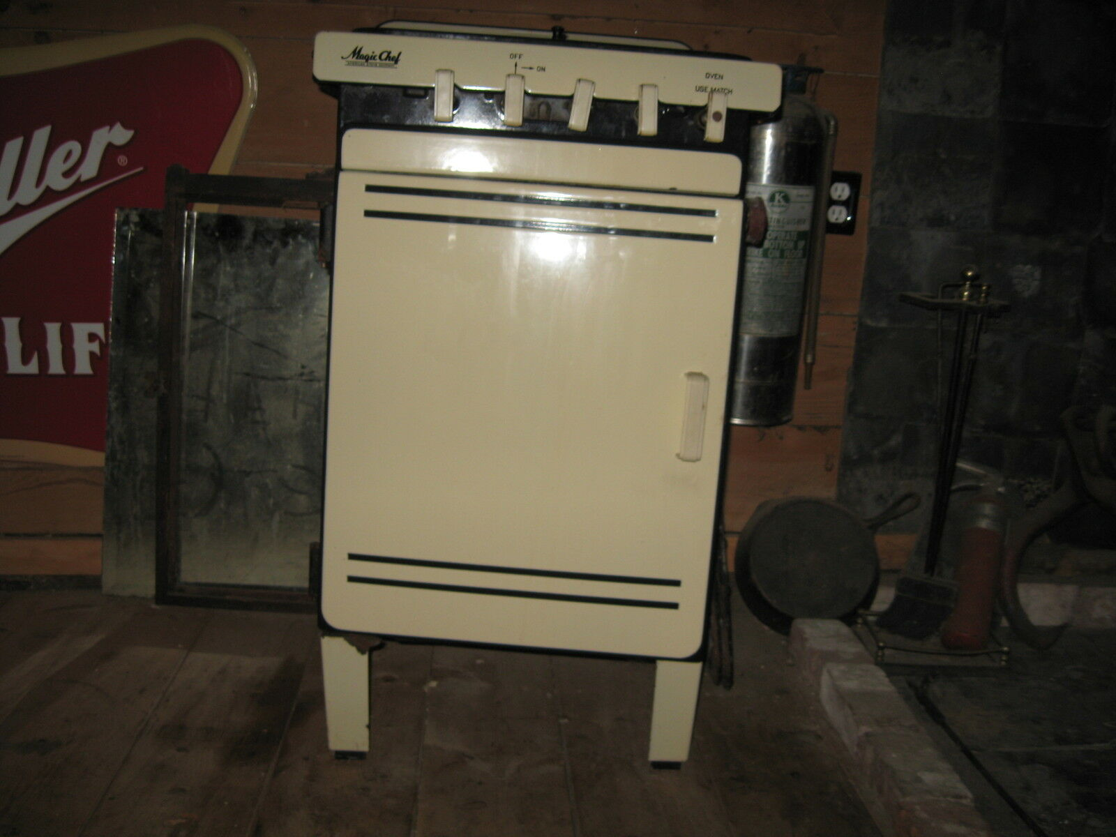 vintage 1930 1940 1950 era magic chef small gas range
