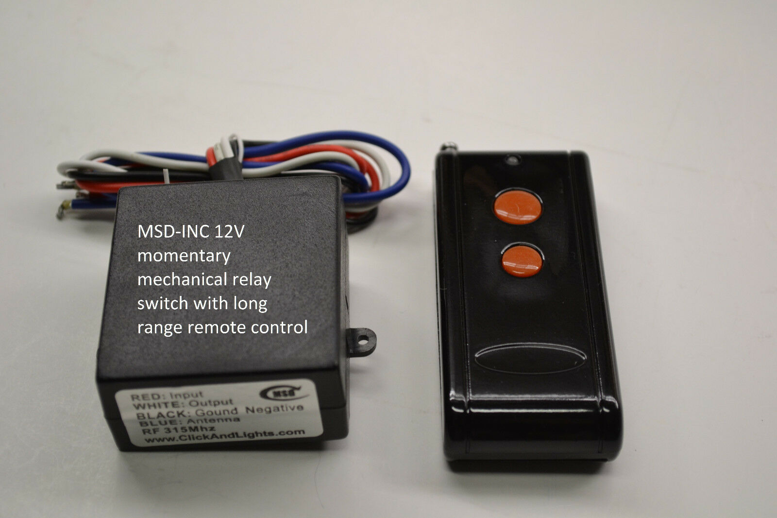 Relay 12 Volts Remote Switches Volt With 12v Dc Momentary Out Switch Long Range