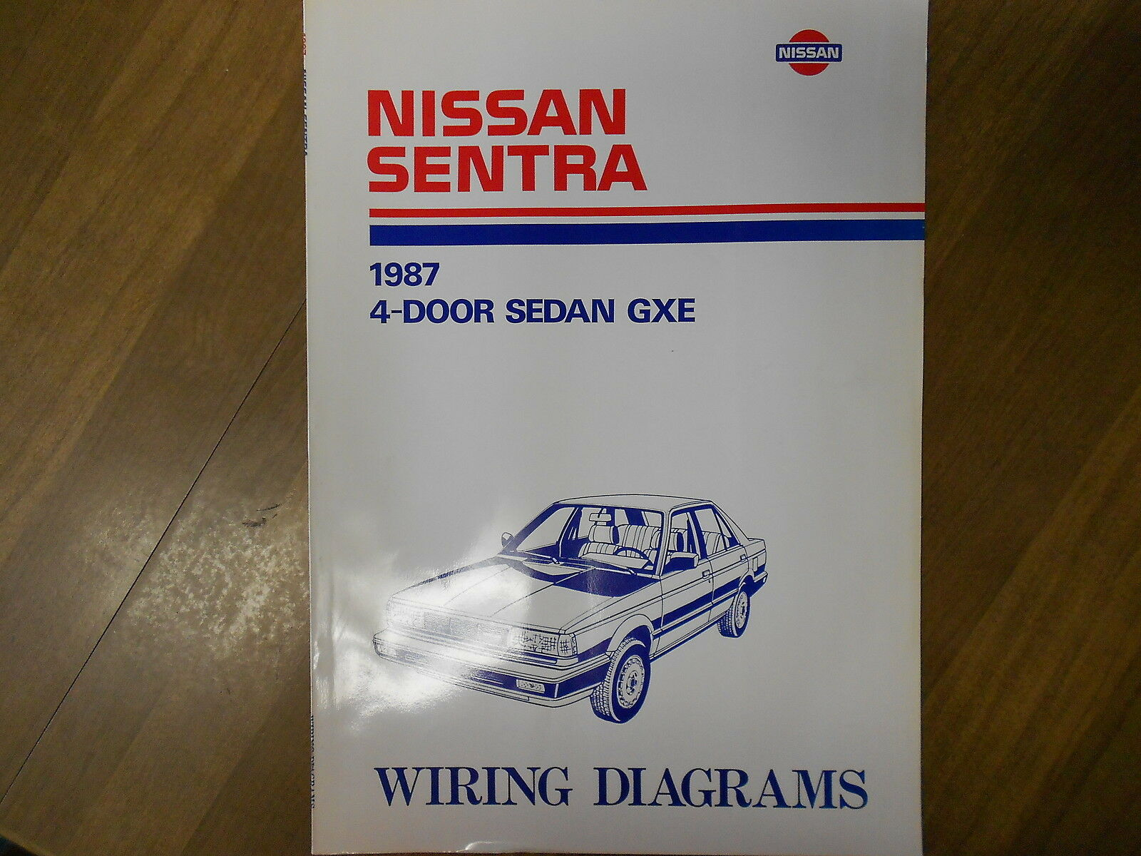Sentra Service Manual Ata 110 Wiring Diagram B Walkthrough Array 1987 Nissan 4 Door Sedan Gxe Rh Picclick Com