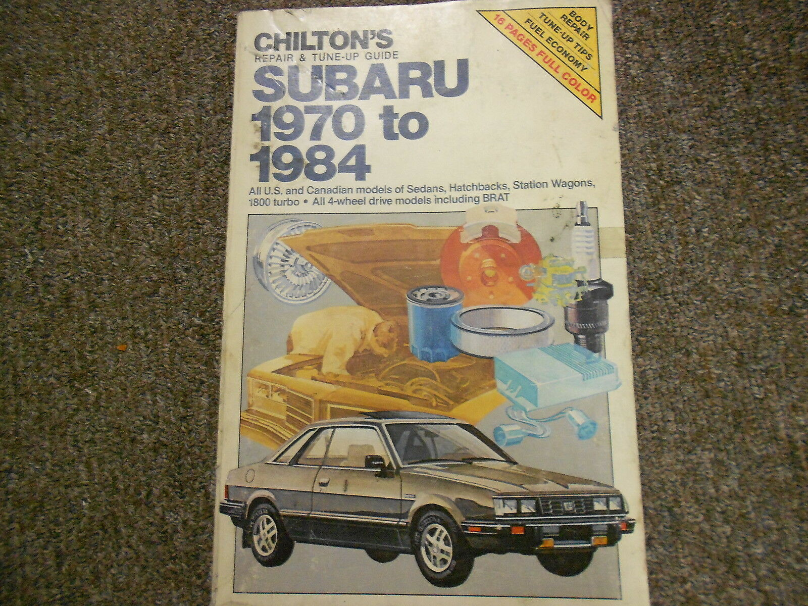 1970 1984 Subaru Tune Up Service Repair Shop Manual FACTORY OEM BOOK 71 74  77 80 1 of 1Only 1 available ...