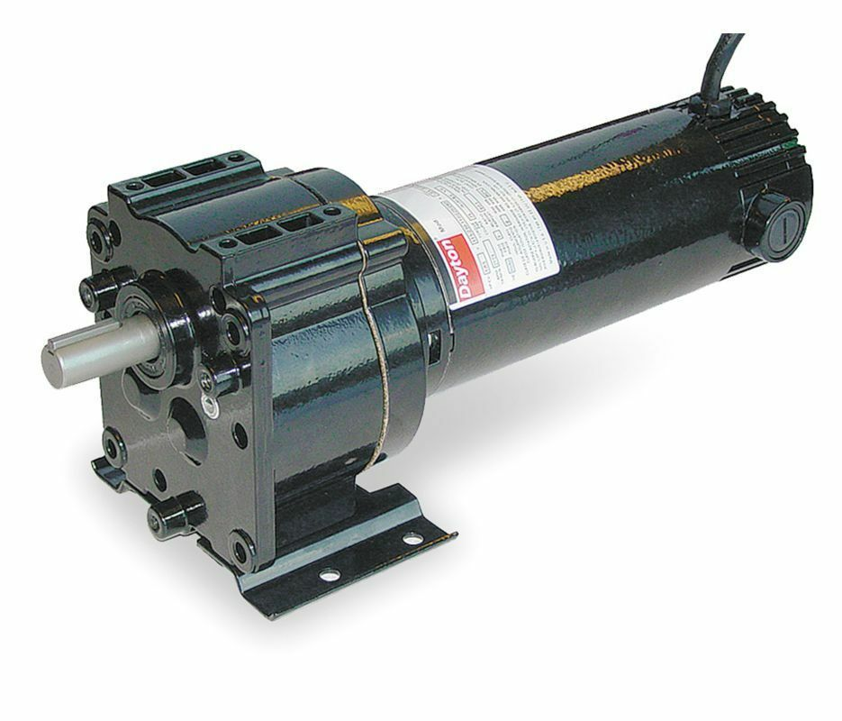 dayton model 1z822 dc gear motor 31 rpm 1 6 hp 12vdc
