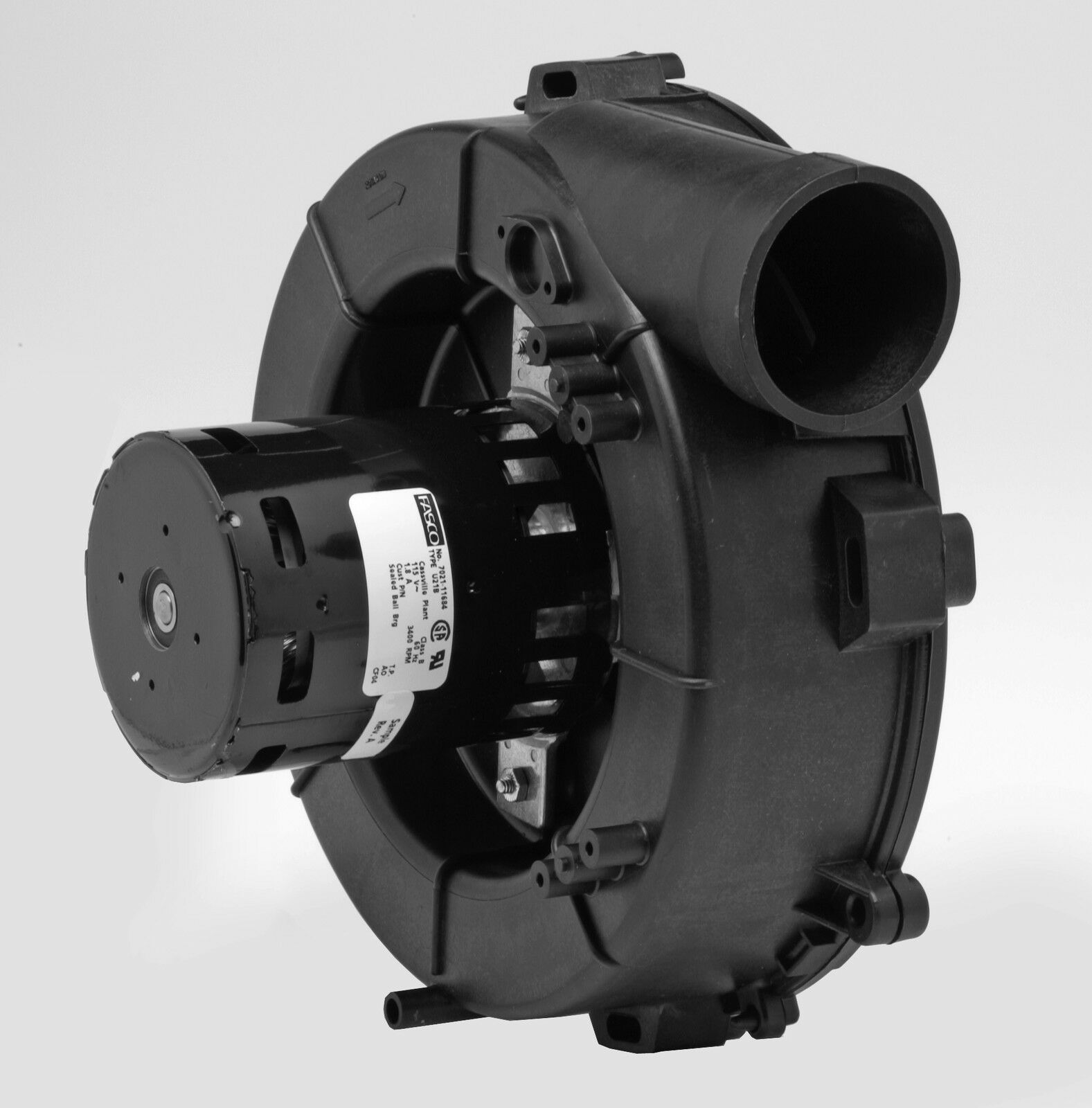 Lennox Furnace Draft Inducer Blower 115v 83l4101 7021 11406 Fasco A204 Picclick