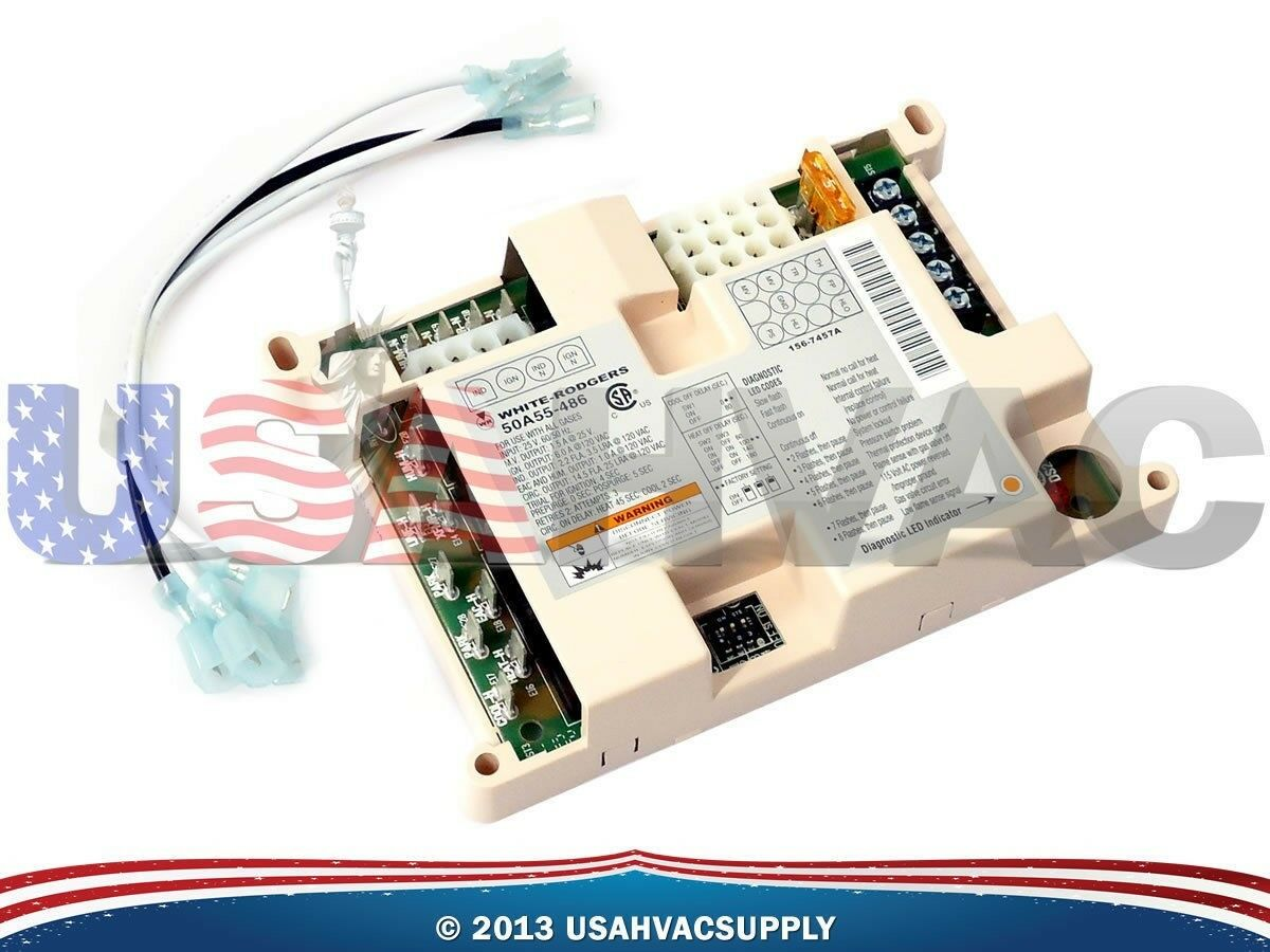 Trane White Rodgers American Standard Furnace Control Board 50a50 Pump Defrost On Circuit Replacement Cost 571 405 1 Of 1free Shipping See More