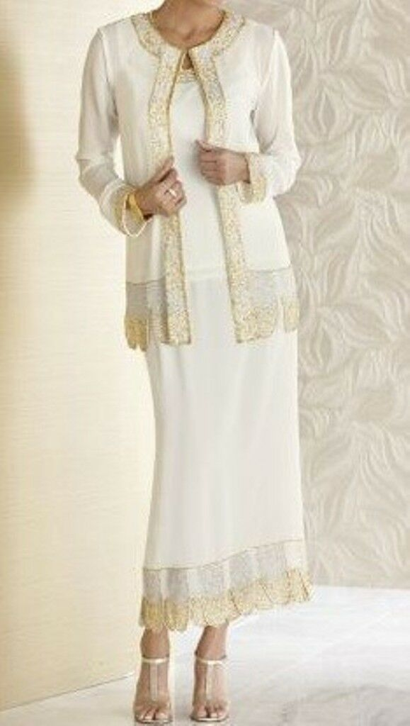 Creative Womens 3Pc JacketampSkirt SuitParty DressWeddingsChurch T4418W