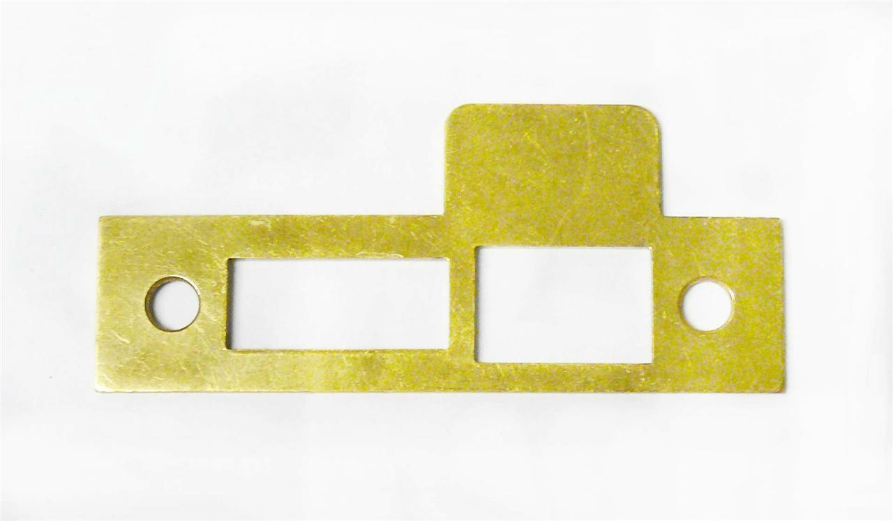 Ilco Strike For Bit Key Lock 733-03-11 House Old Replacement Brass Plate