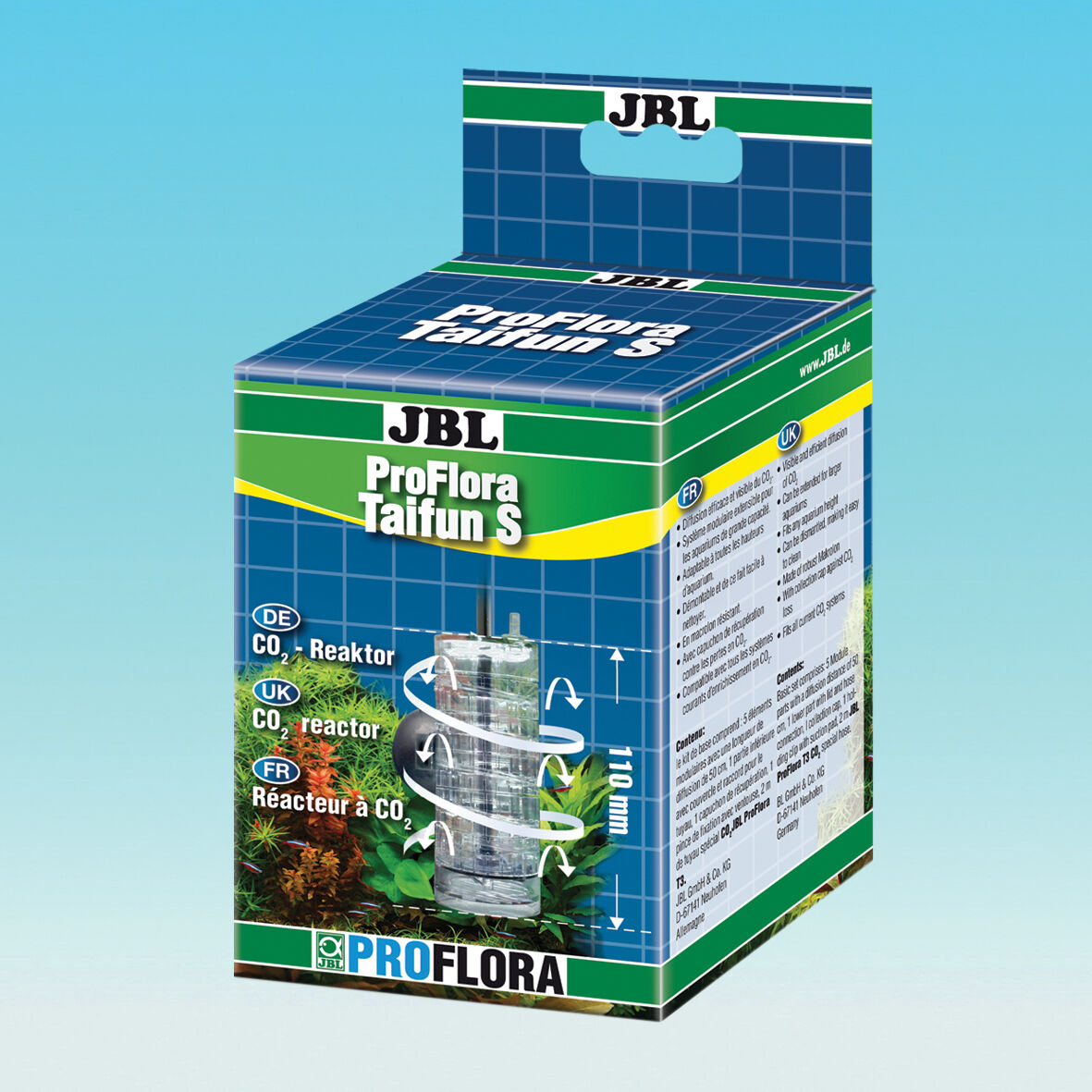 JBL ProFlora Taifun S - Réacteur - CO2 Fertilisation Aquarium