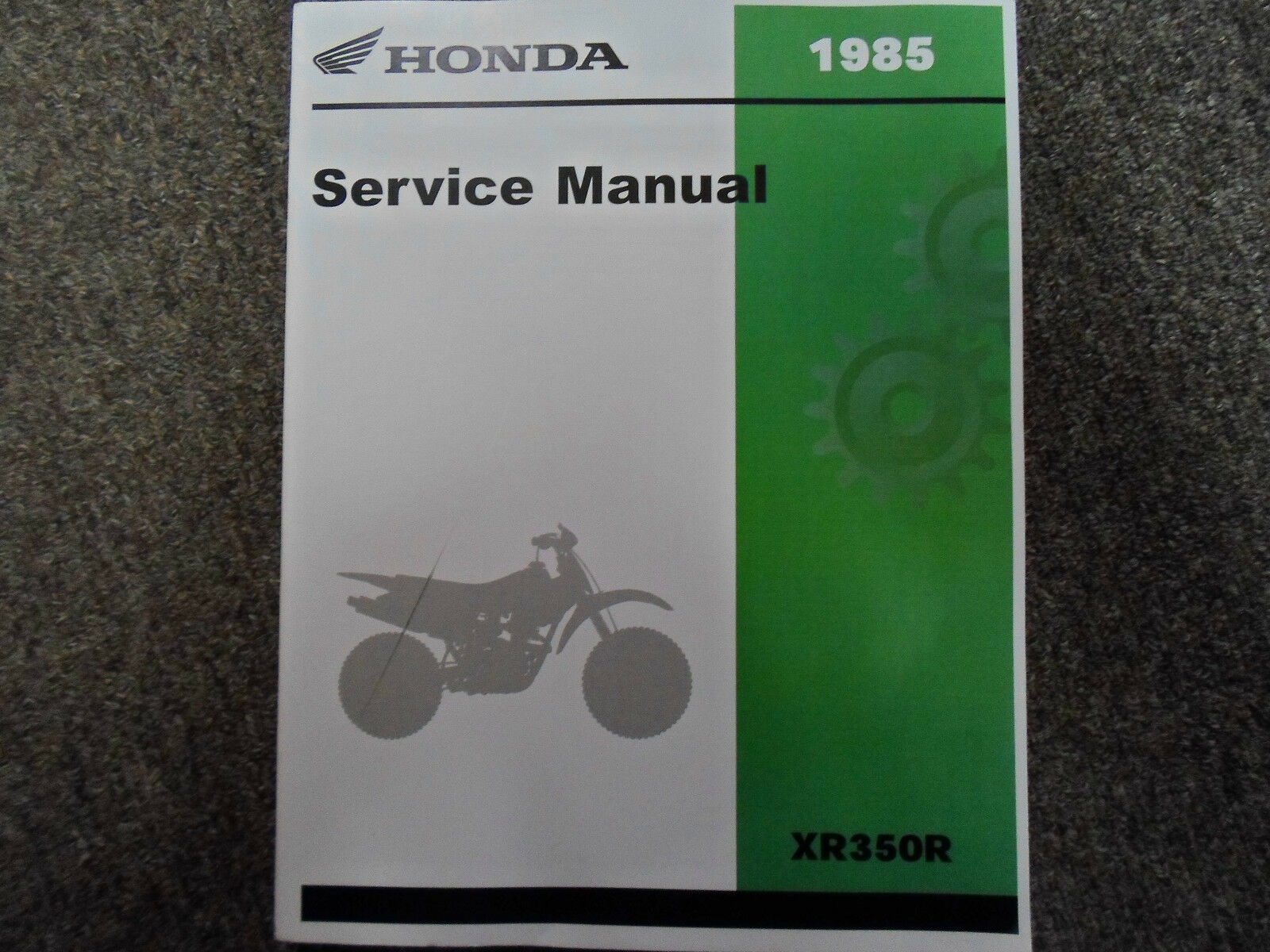 1985 Honda XR350R XR 350R Service Shop Repair Workshop Manual FACTORY NEW  1985