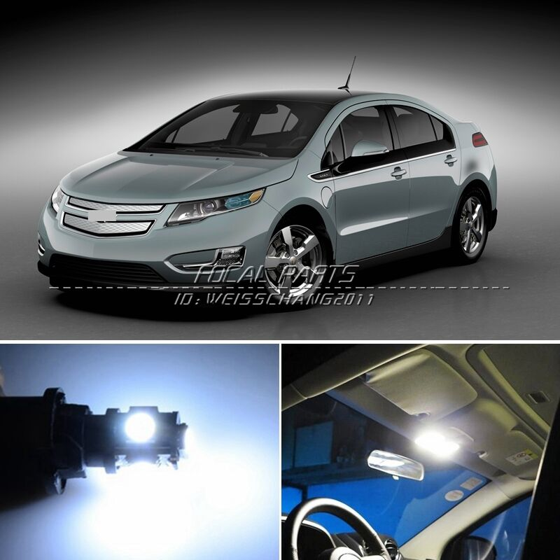 11 x xenon white led lights interior package kit for chevy volt 11 14 k118 picclick. Black Bedroom Furniture Sets. Home Design Ideas