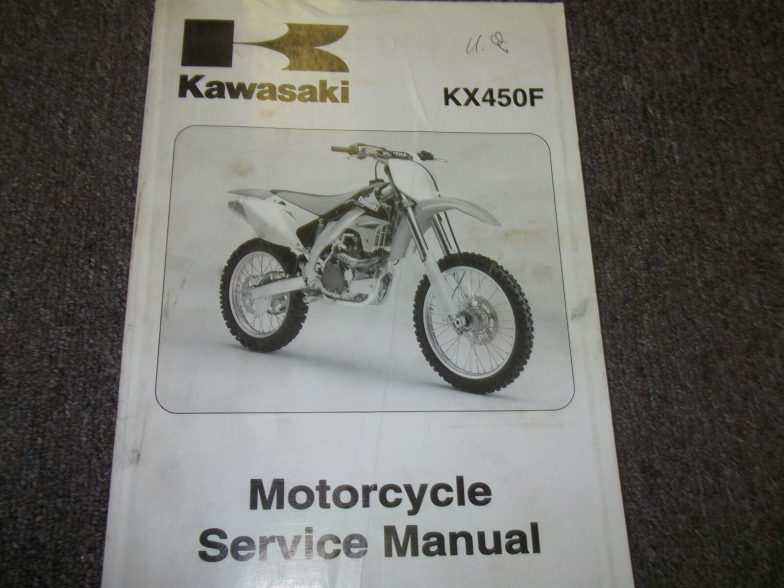 2006 06 Kawasaki KX450F KX 450 F KX450 MOTORCYCLE Service Repair Shop Manual  x 1 of 4Only 1 available See More