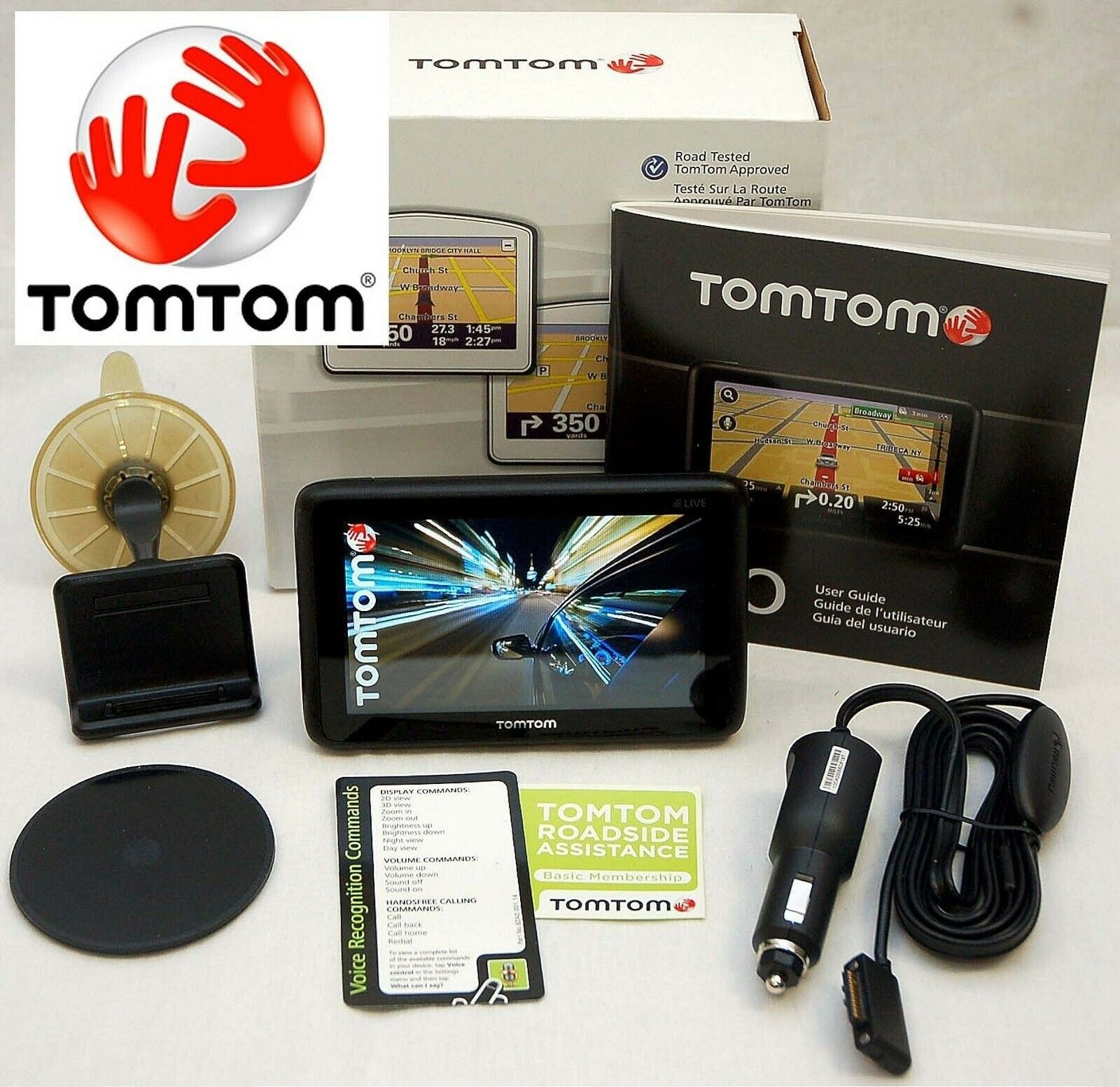 NEW In Box TomTom GO TM WTE World Traveler Car GPS USA Europe - Tomtom gps usa map download free