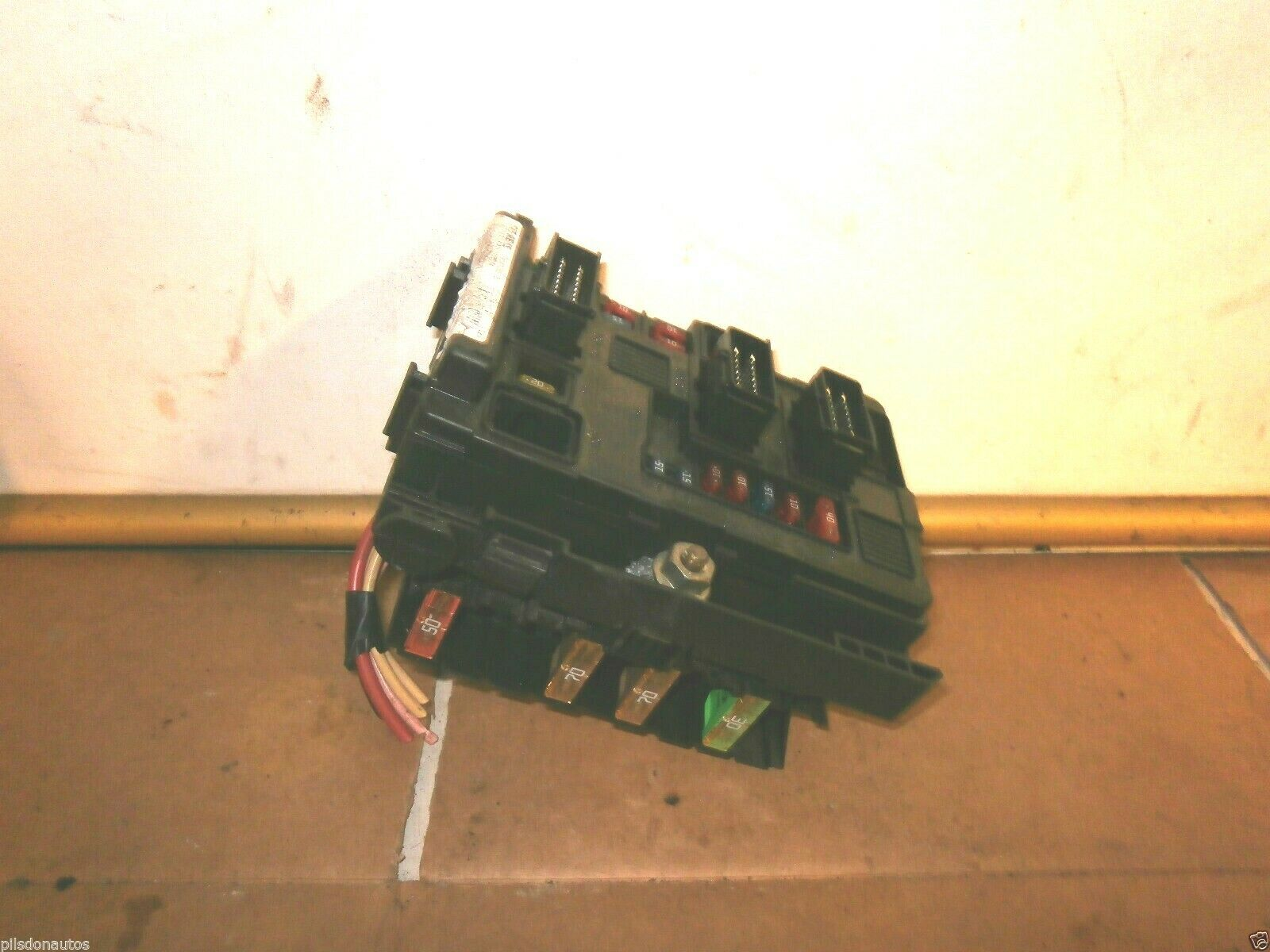 Peugeot 206 External Under Bonnet Engine Bay Fuse Box Bsm B2 In 1 Of 1only 2 Available