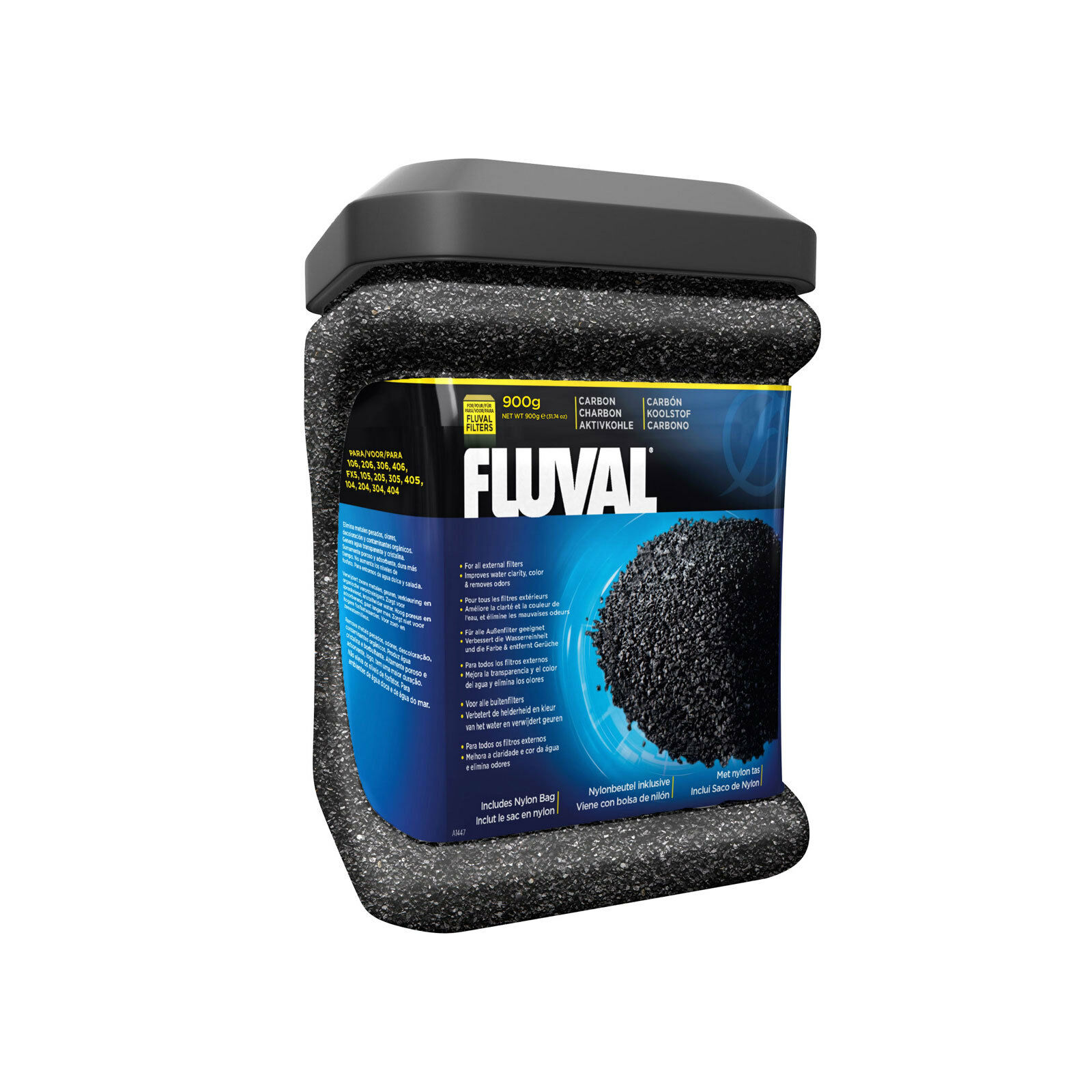 Fluval Carbon, 900g (31.74 oz) External Filter 04/05/FX5/06 Media