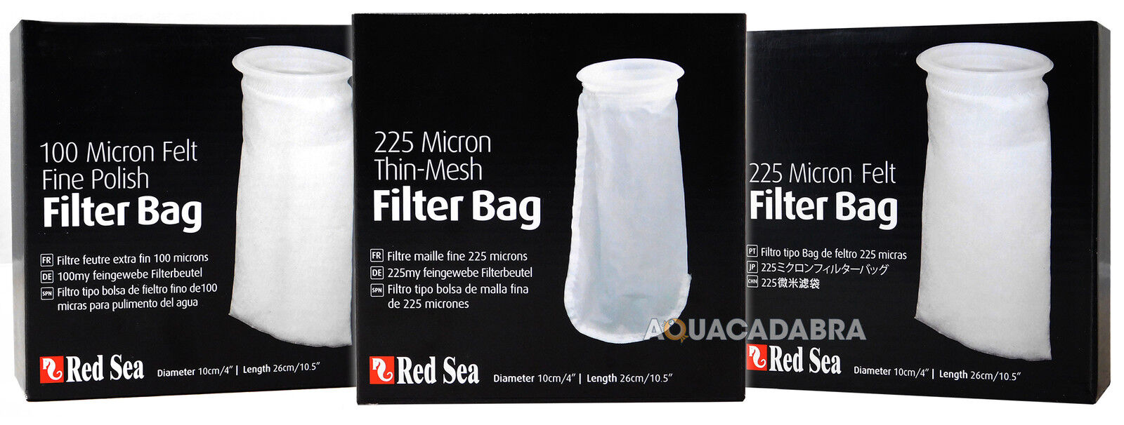 Red Sea Reefer Micron Filter Sock Bag Fine Polish Felt Thin Mesh Filtration Fish