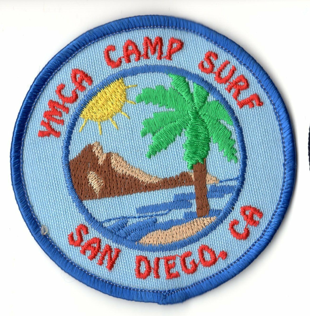 girl scouts boy scouts fun patch ymca camp surf san diego