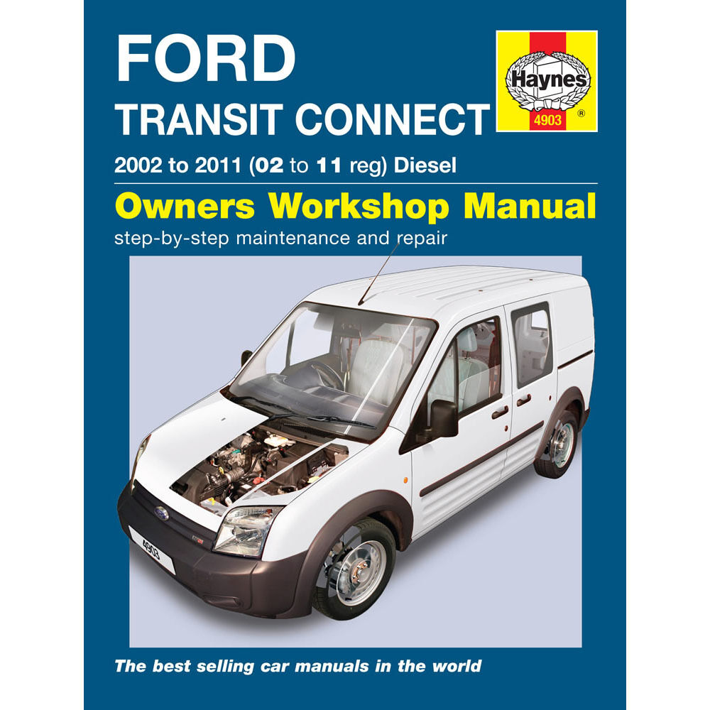 Ford Transit Connect Haynes Manual 2002-11 1.8 Diesel Workshop Manual 1 of  1FREE Shipping See More
