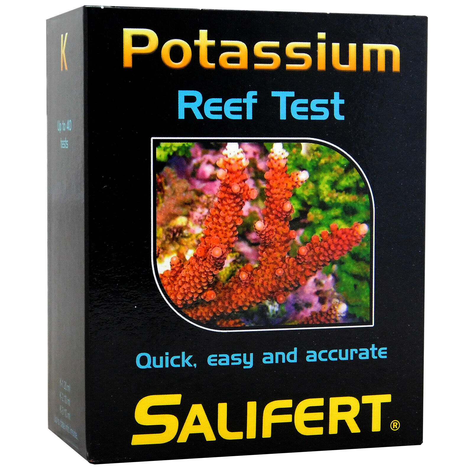 Salifert Potassium K Reef Test Kit Up To 40 Tests Marine Fish Tank Aquarium