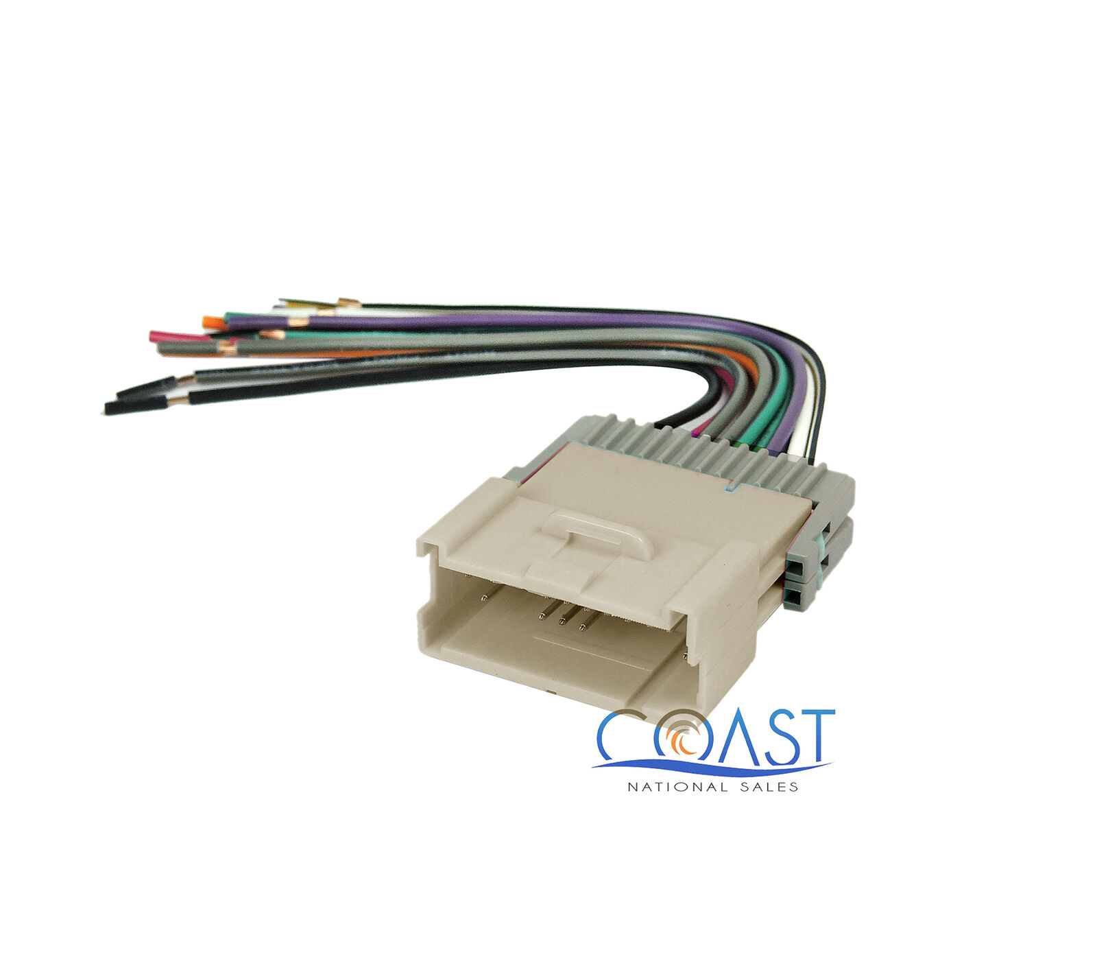 Car Radio Stereo Wire Wiring Harness Plug For 2004 2005 Saturn Ion 1 Of 1free Shipping