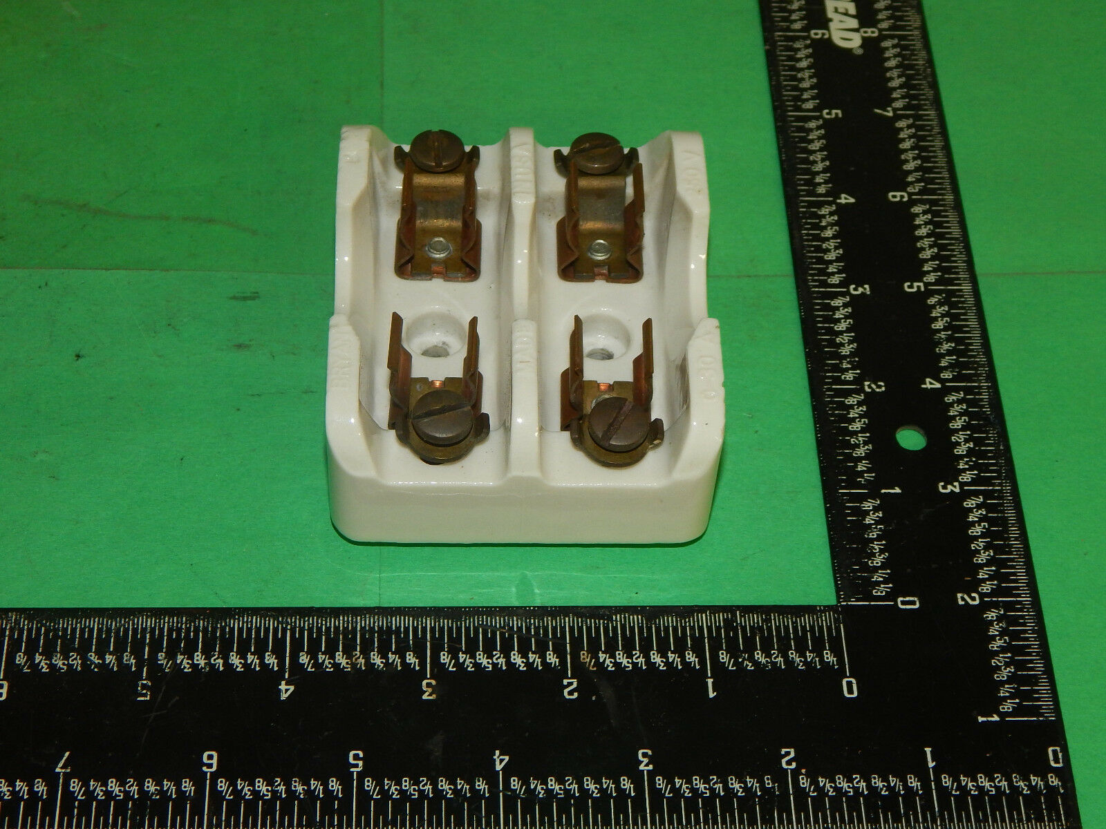 Bryant 1917 Ceramic Fuse Holder 2pole 30amp 250volt 649 Picclick Obsolete Ge Box 1 Of 4only Available