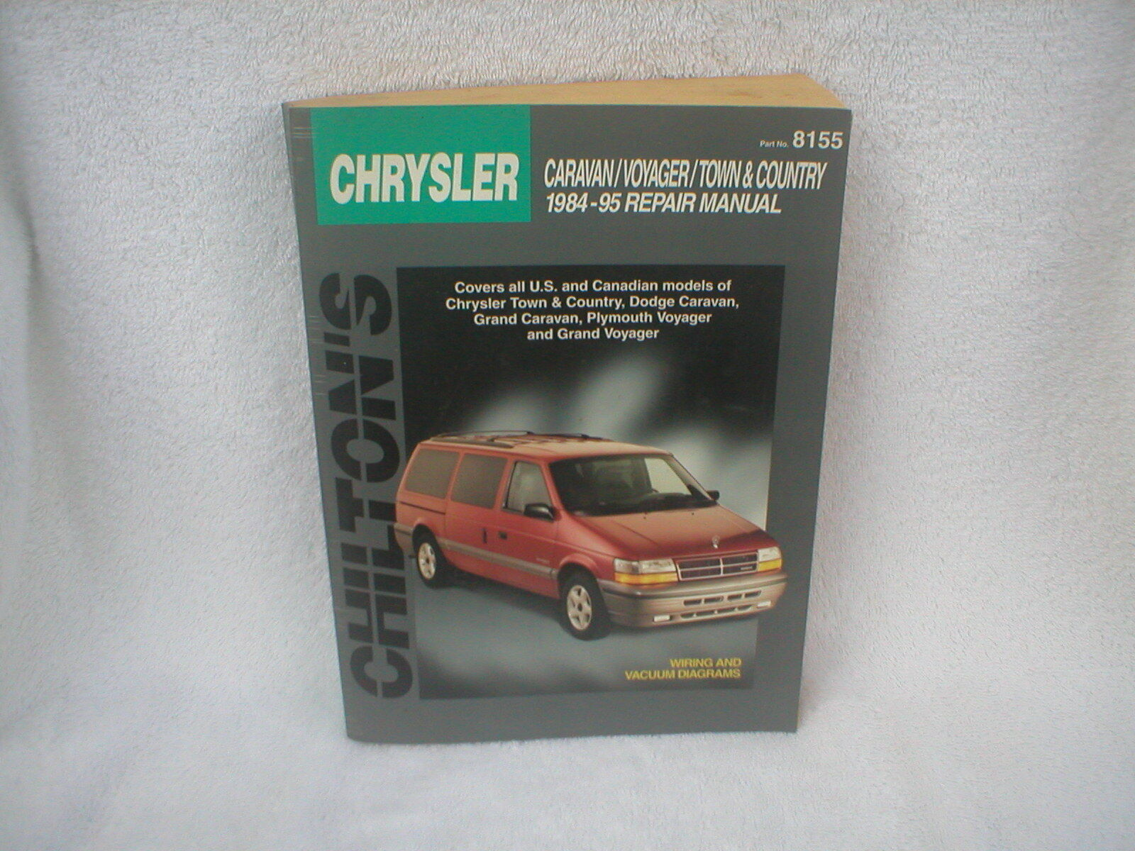 Chrysler Caravan / Voyager / Town & Country Repair Manual - 1984 -1995  Chilton's 1 of 1Only 1 available ...